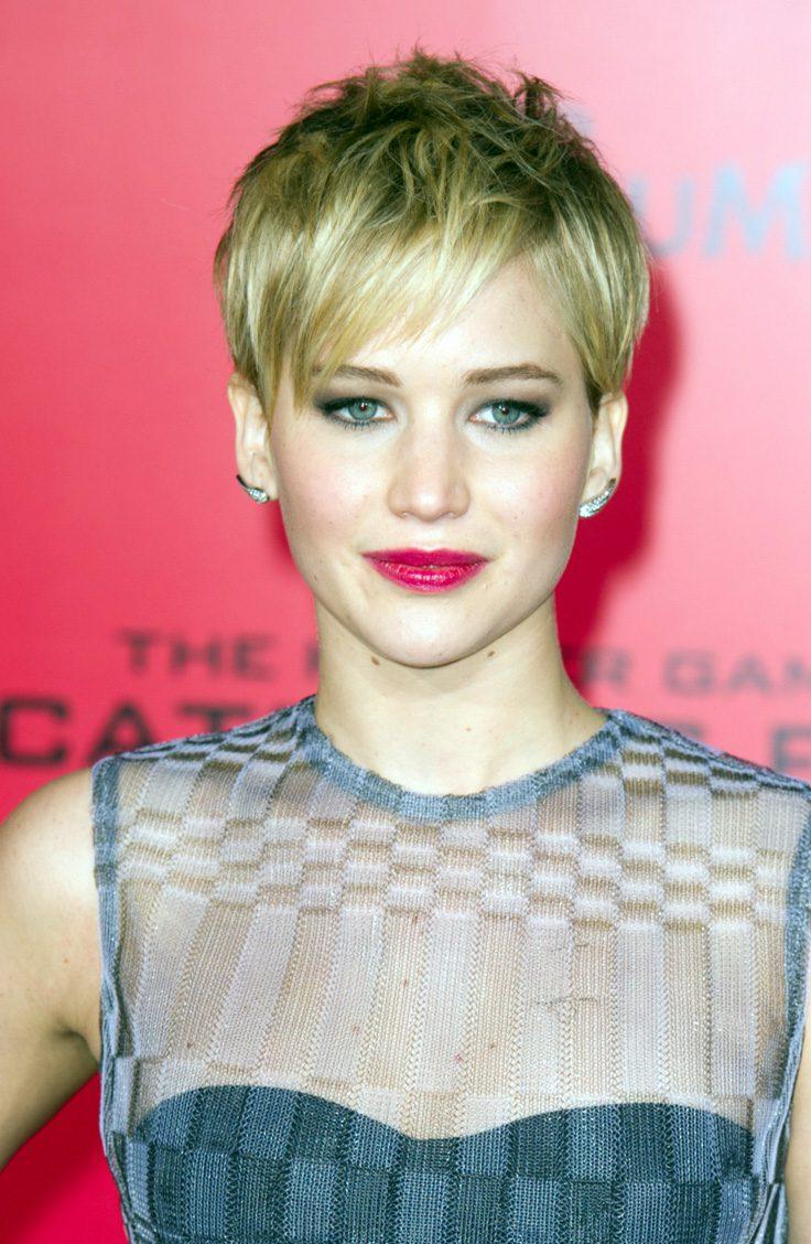 Jennifer Lawrence's Edgy Pixie Cut