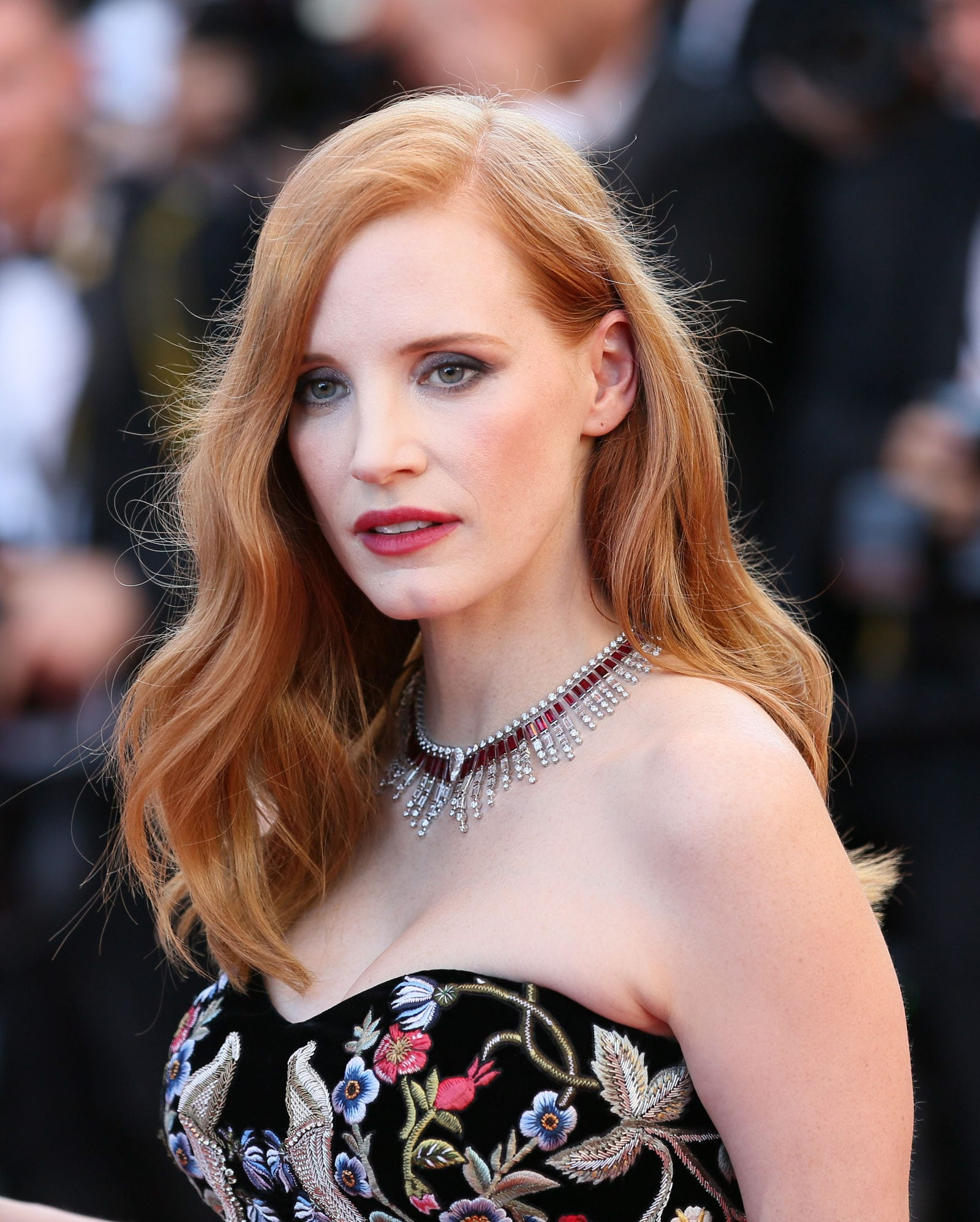 Jessica Chastain Strawberry Blonde