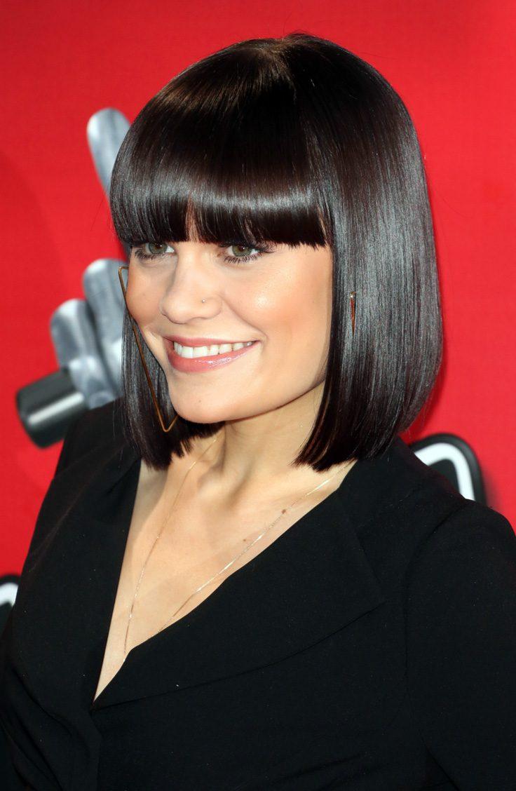 Jessie J's Blunt Bob Hairstyle