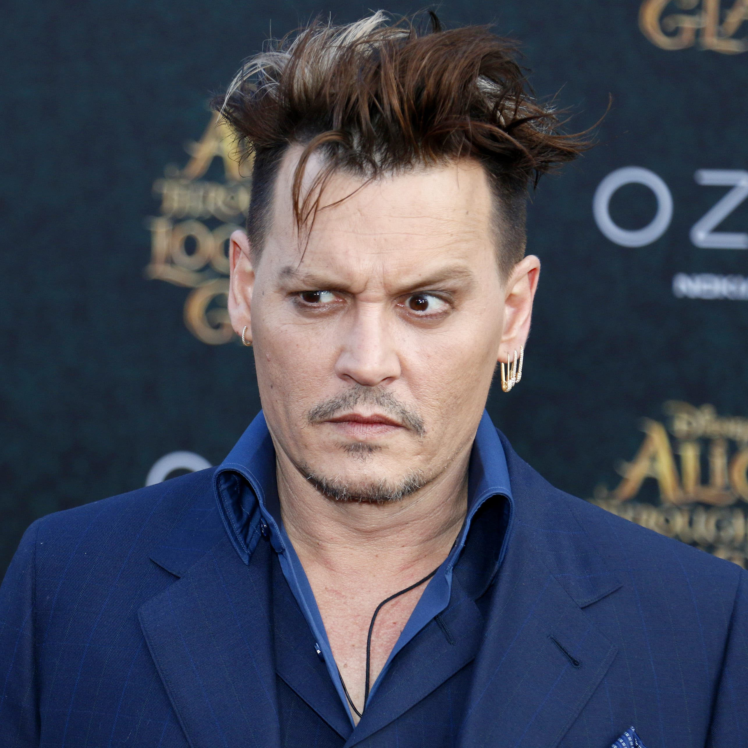 Johnny Depp's Edgy Haircut