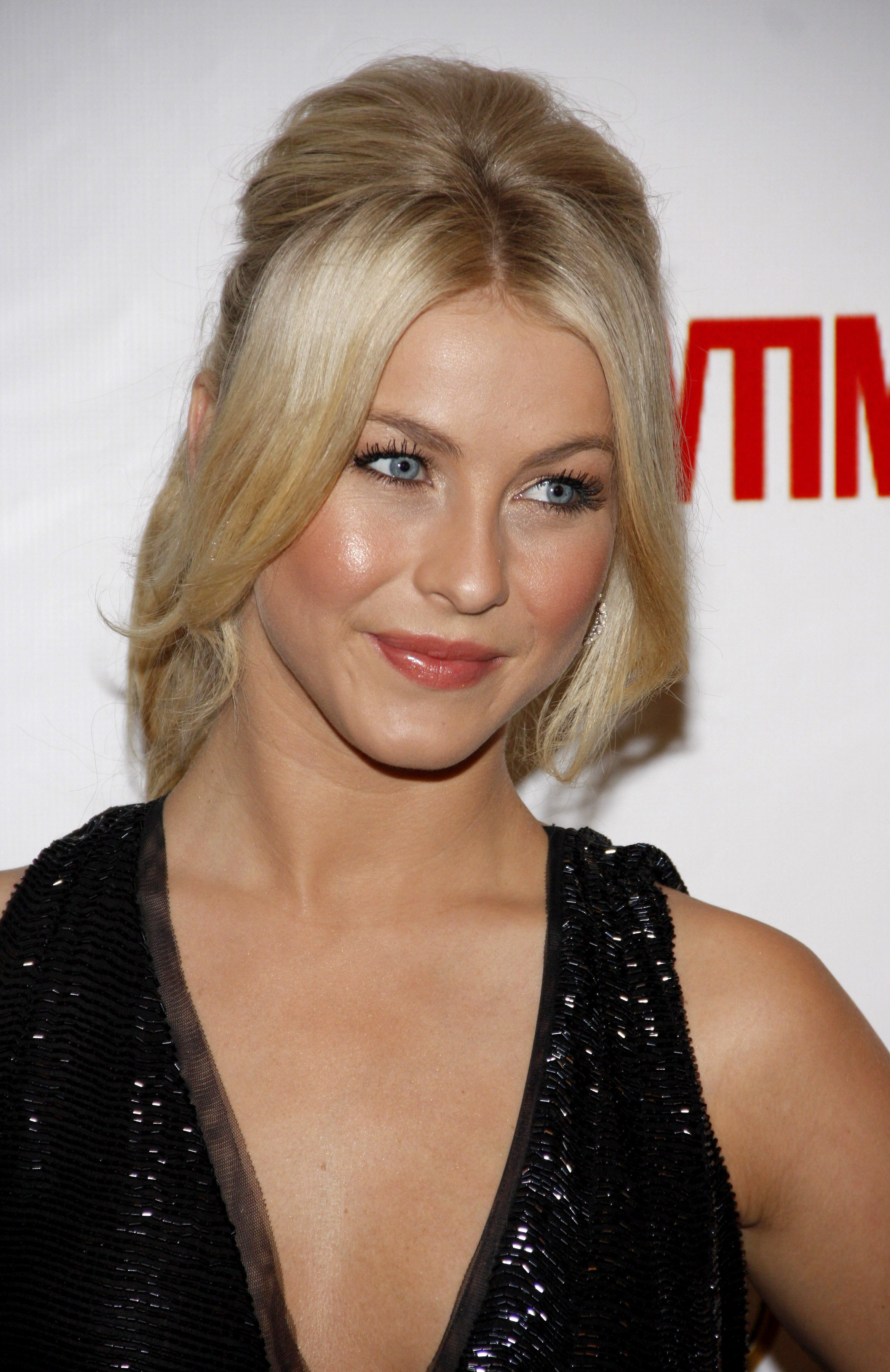 Julianne Hough Parting Those Fringes in the Middle