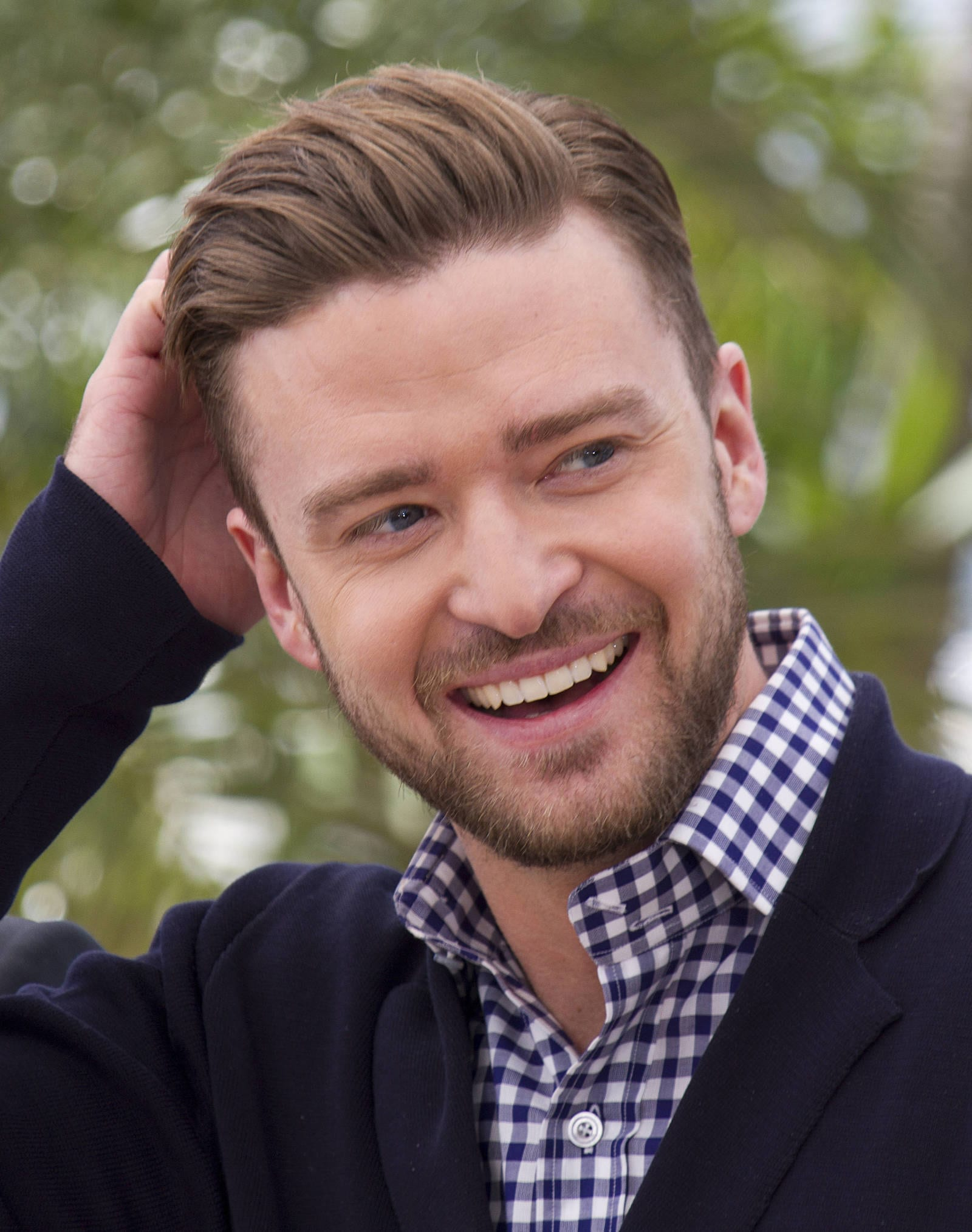 Justin Timberlake Close Side Part