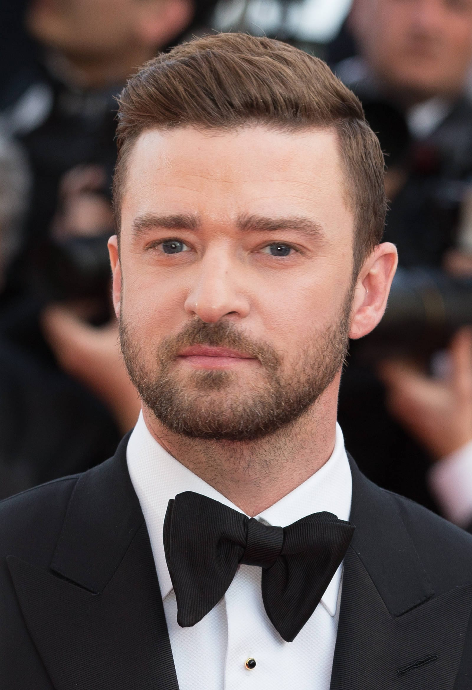Justin Timberlake Side Part Hairstyle