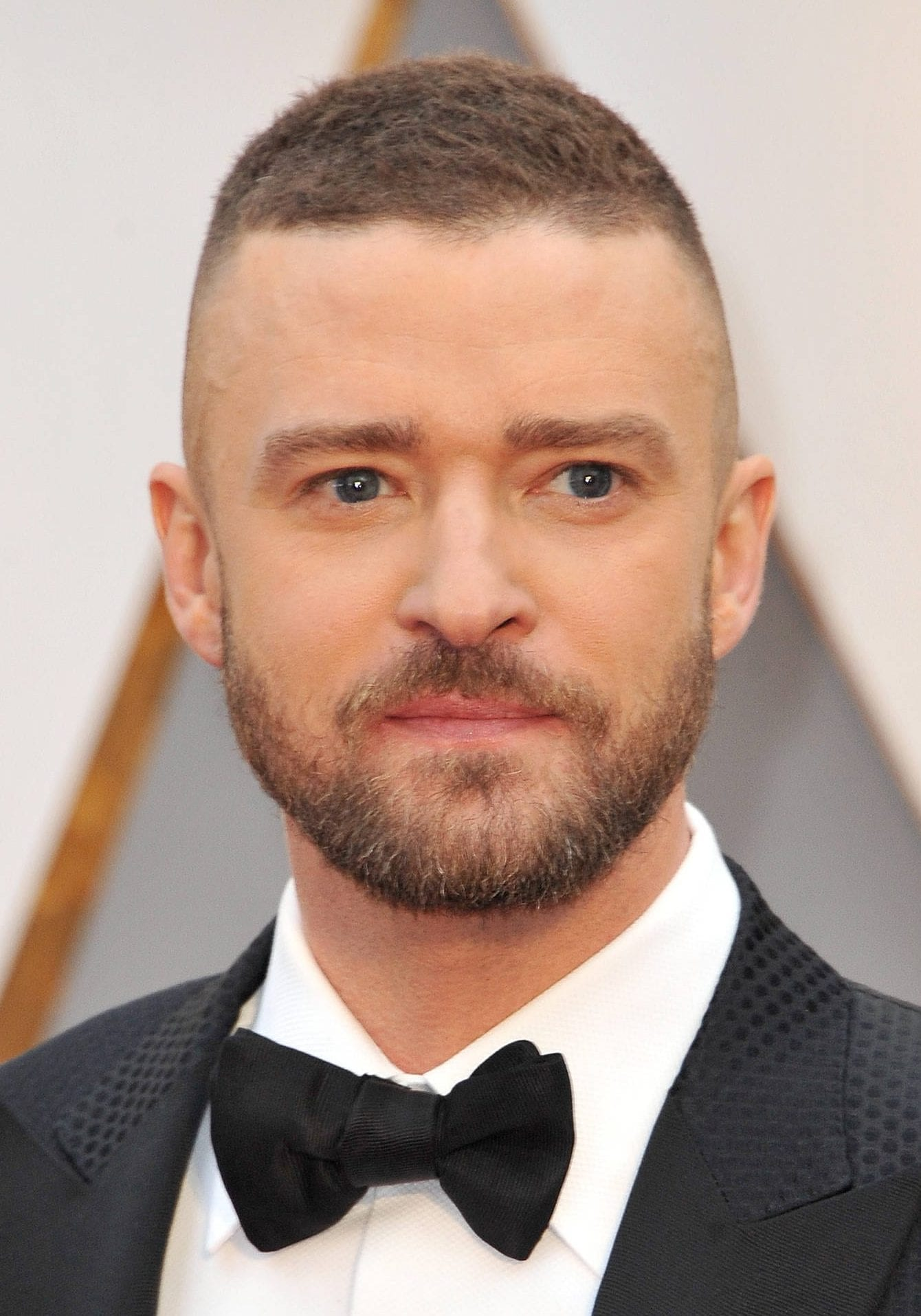 Justin Timberlake tall buzz cut