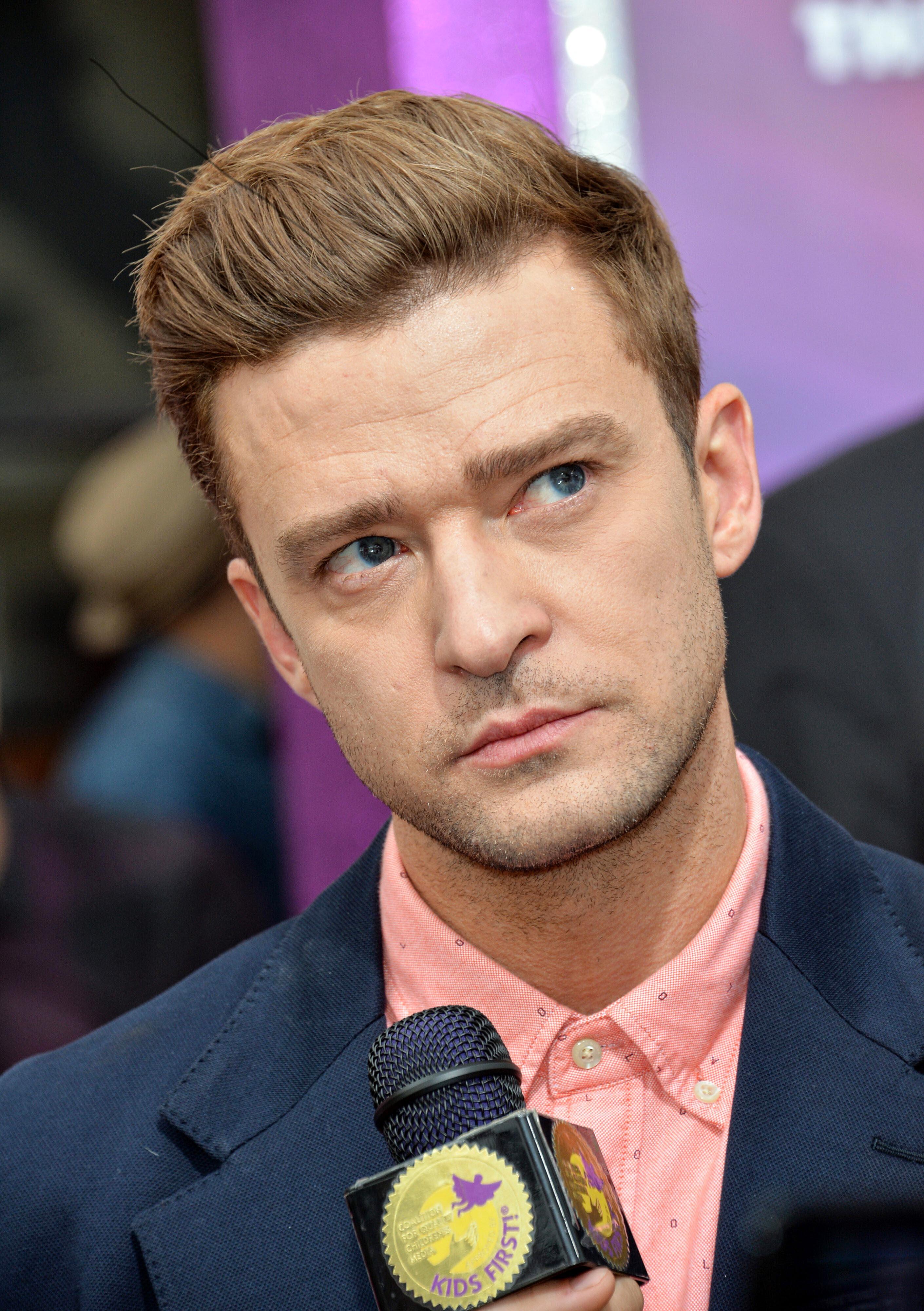 Justin Timberlake's Short Back and Sides