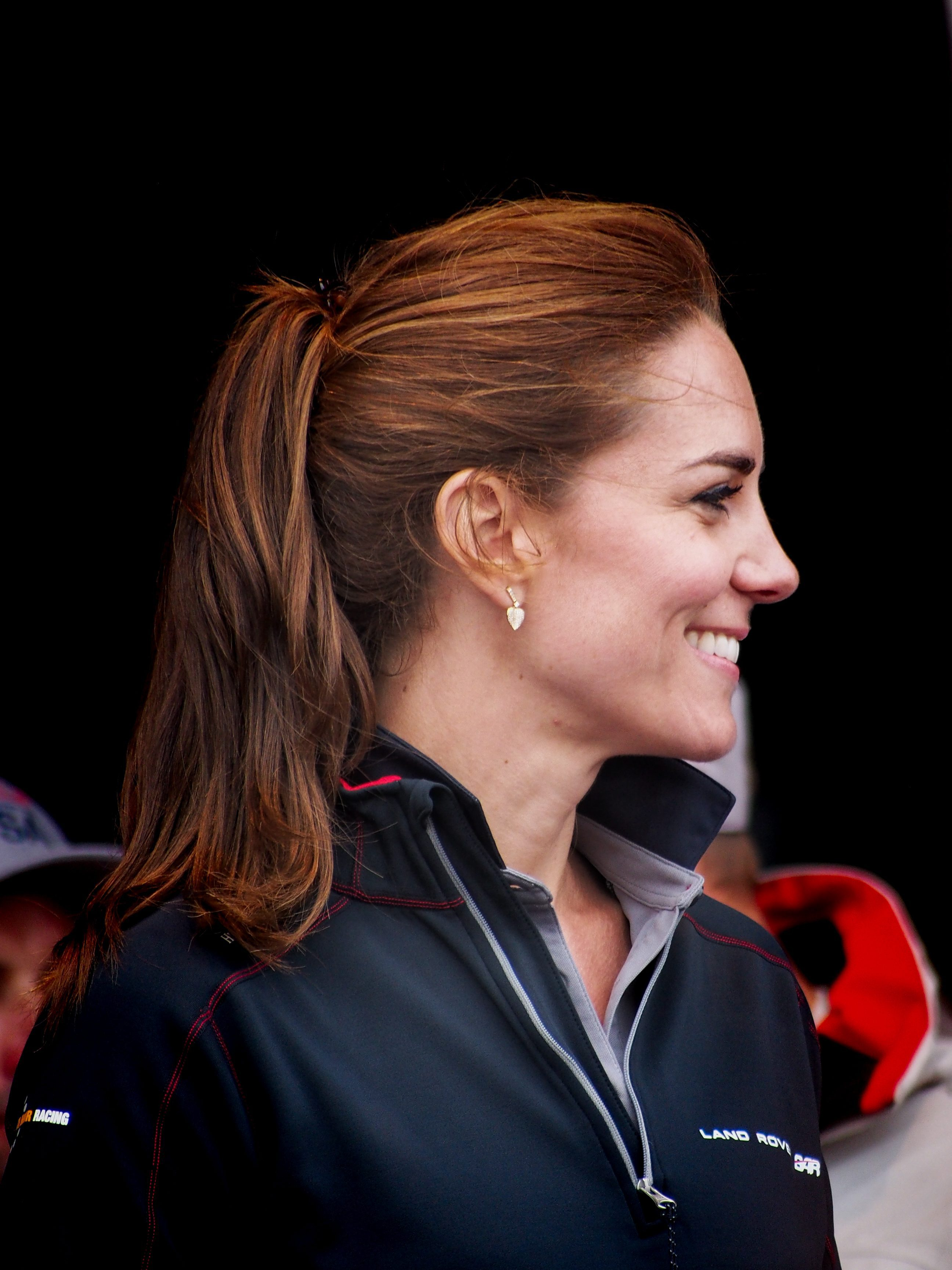 Kate Middleton's Brown Hair with Caramel Highlights