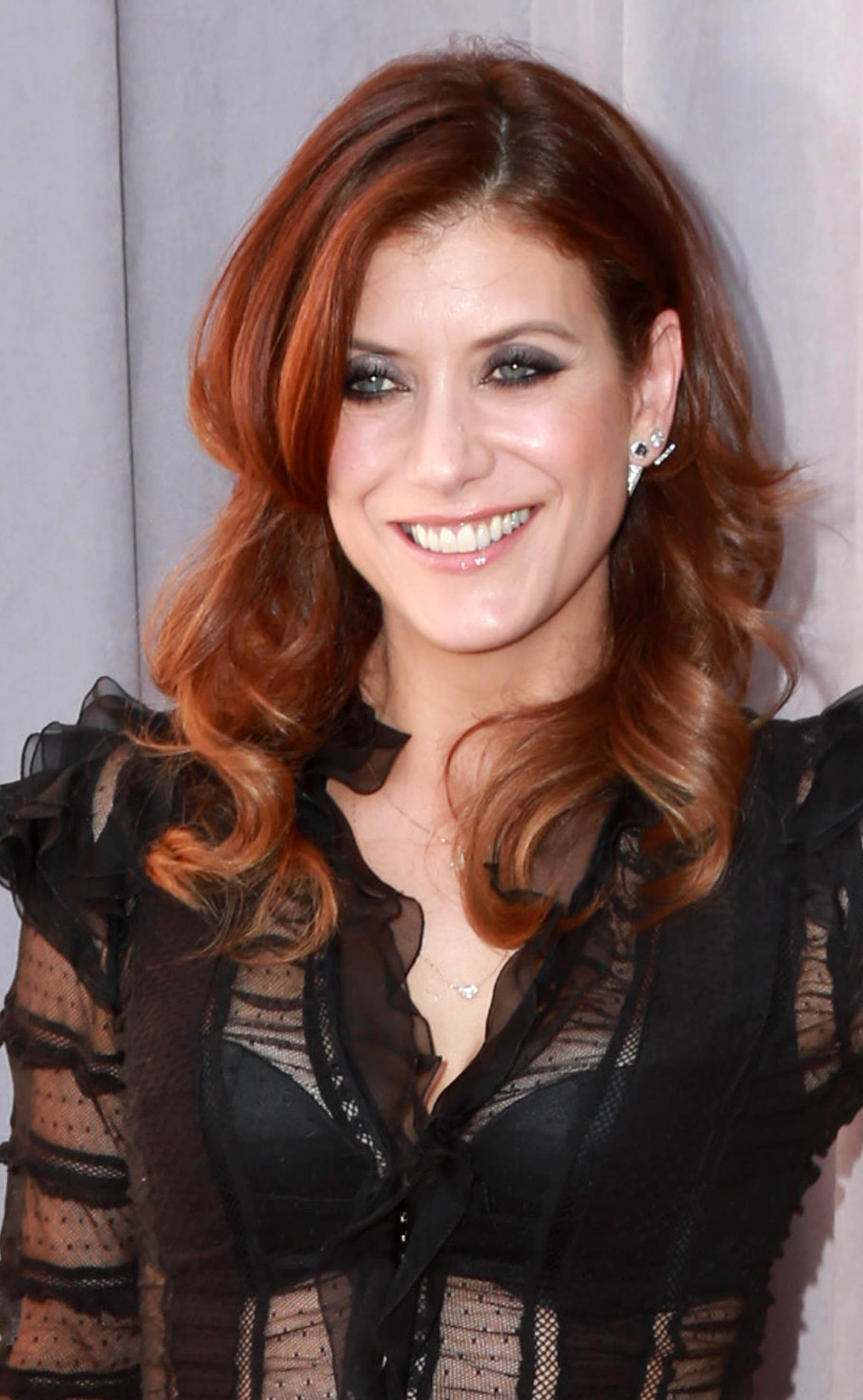 Kate Walsh's Signature Red Locks