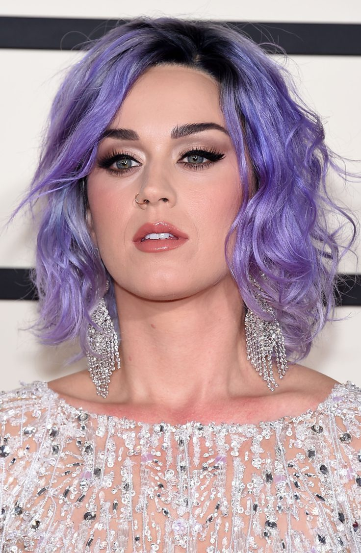 Katy Perry's Colored Bob