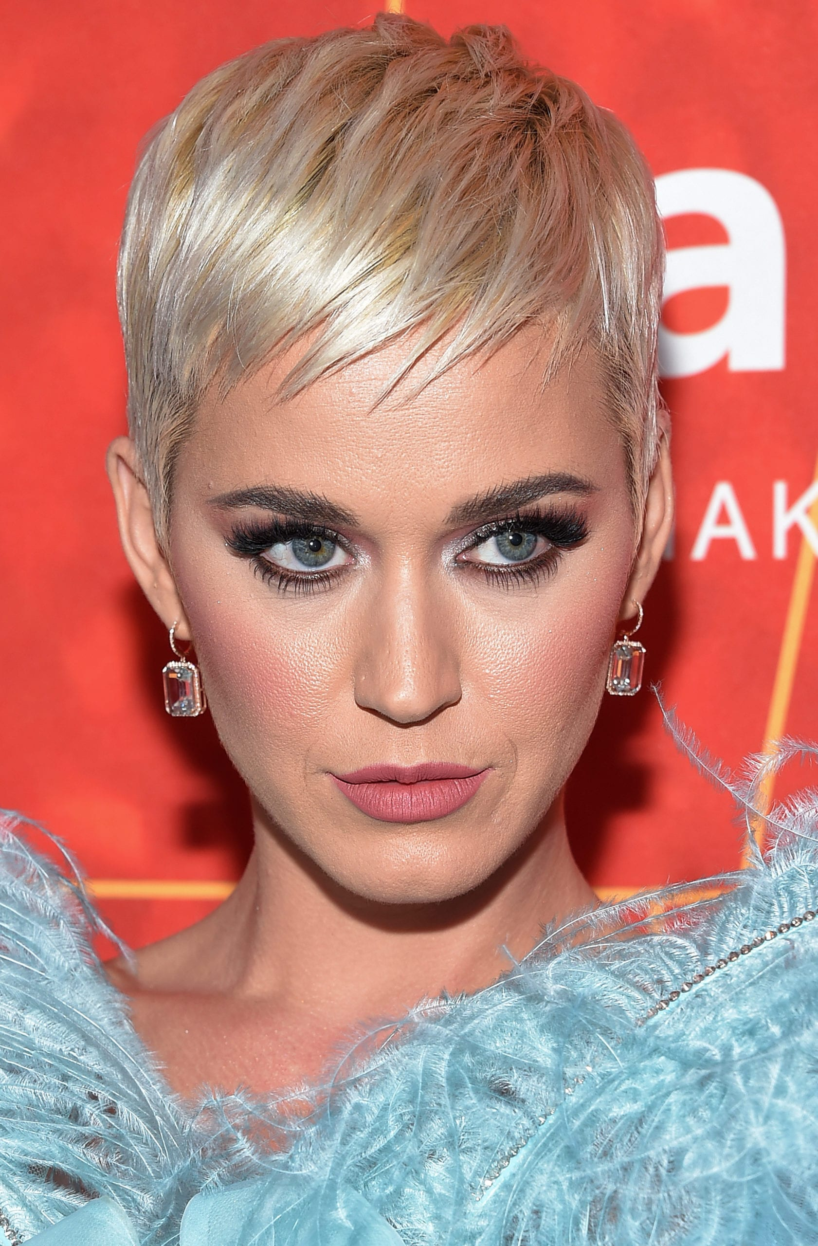 Katy Perry' Pixie and Spiky Bangs