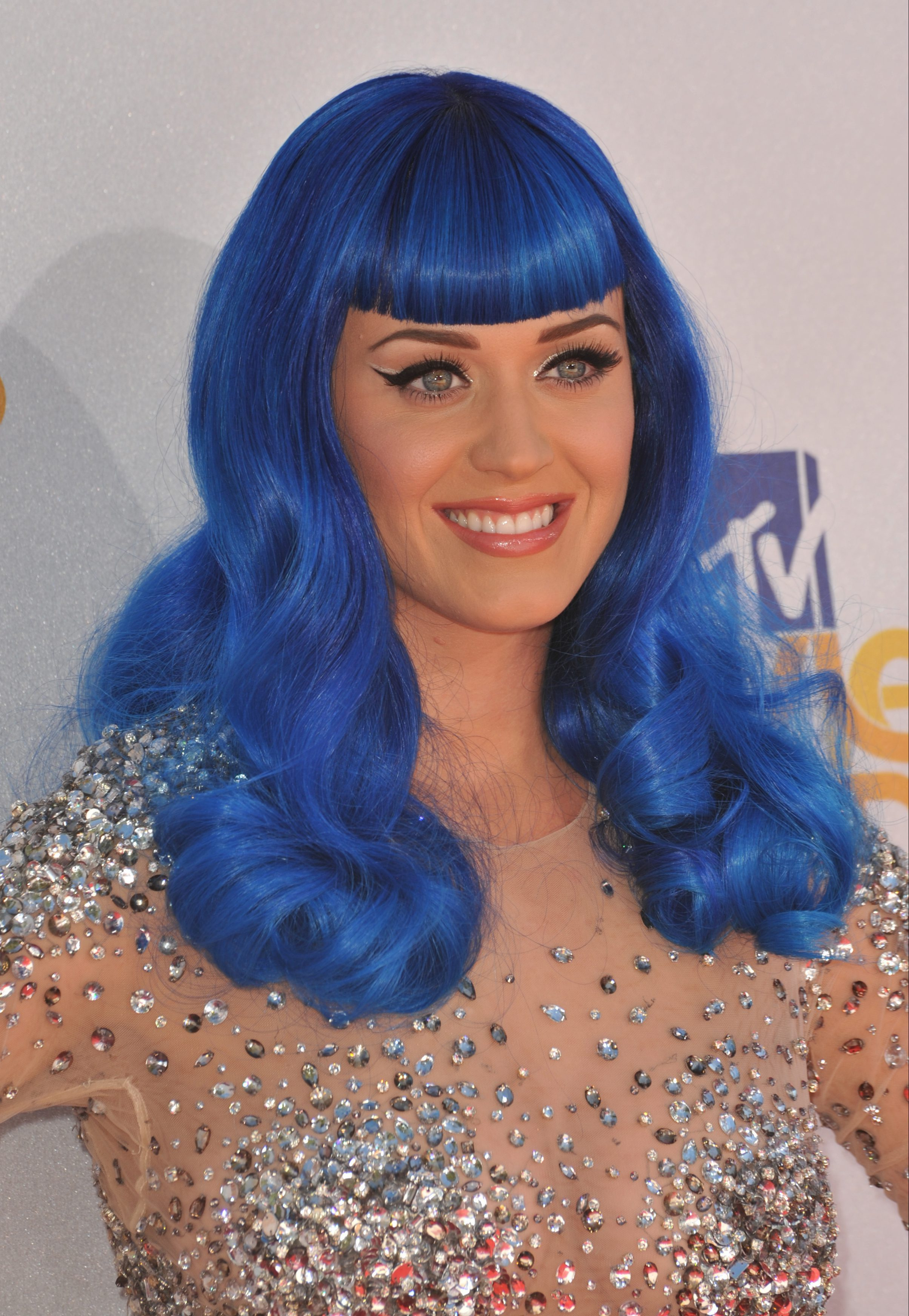 Katy Perry's Avatar Inspired Look