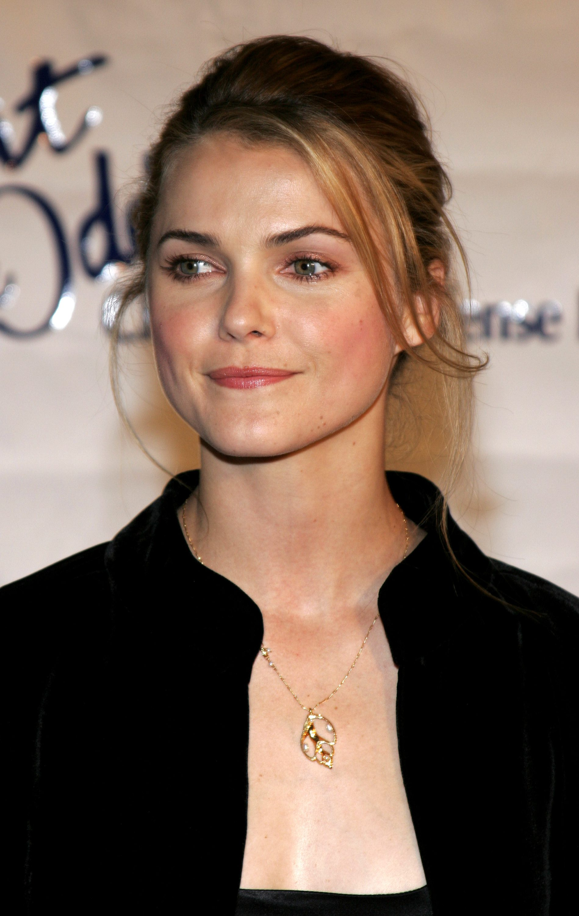Keri Russell with Blonde Fringe Front