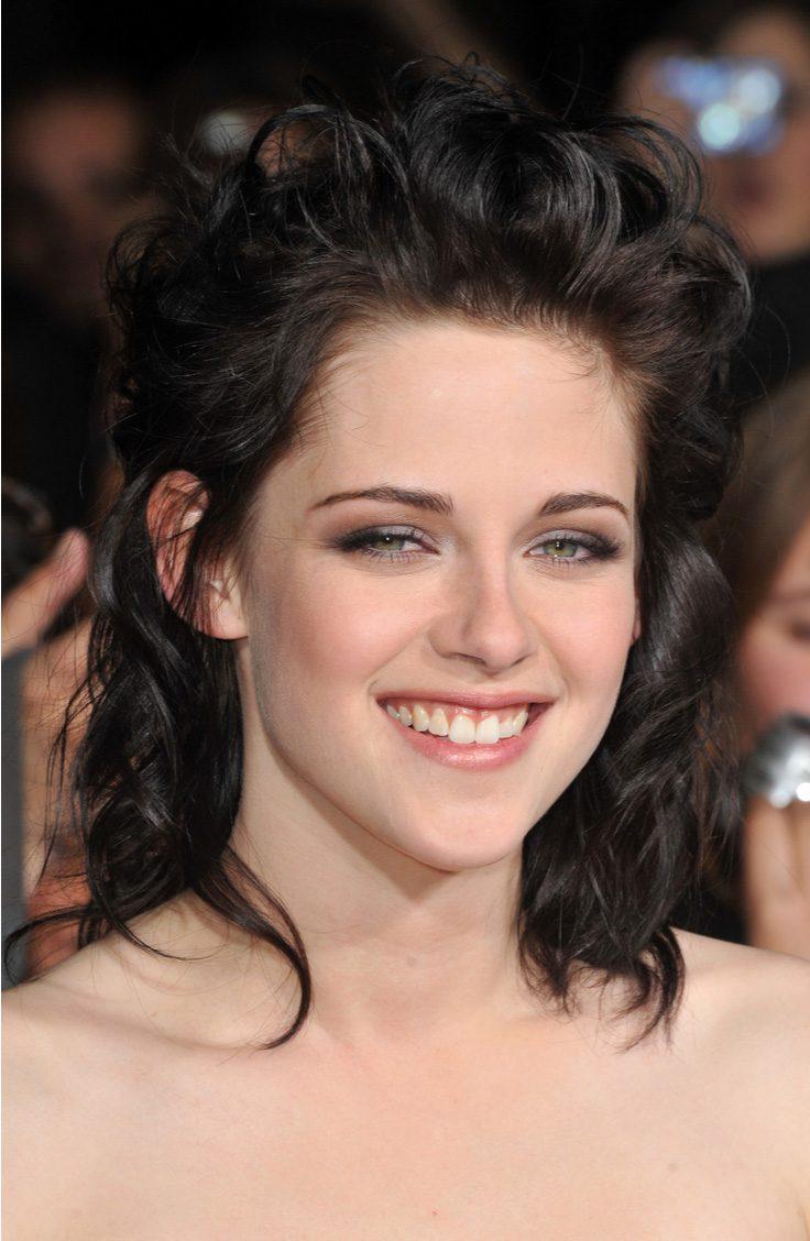 Kristen Stewart's Curly Mullet