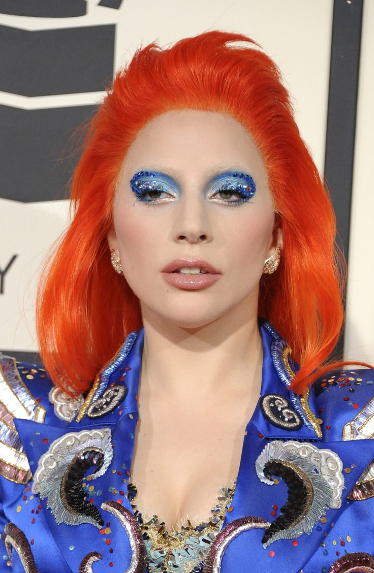 Lady Gaga's Orange Mullet