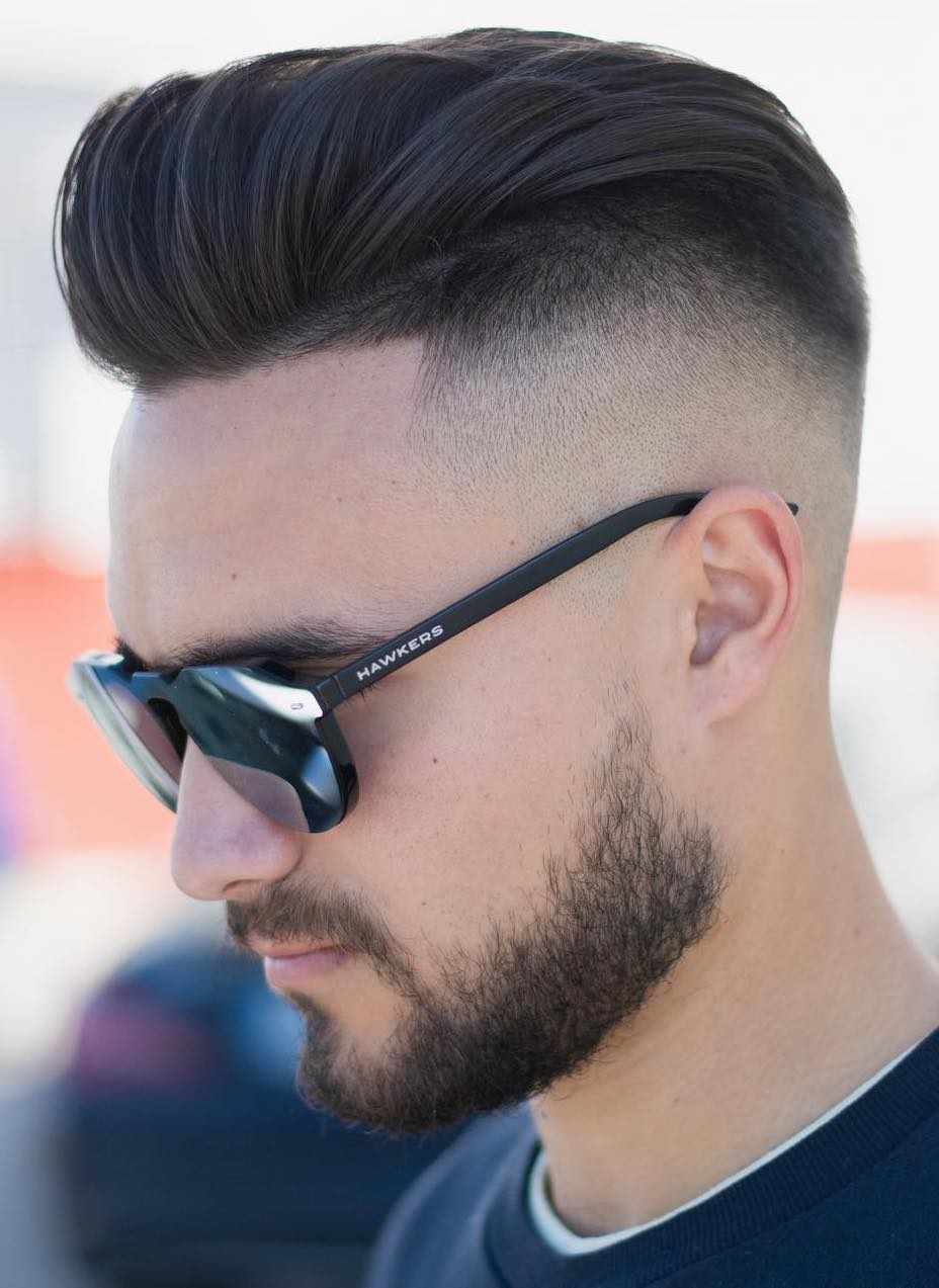 Layered Top with Undercut Fade