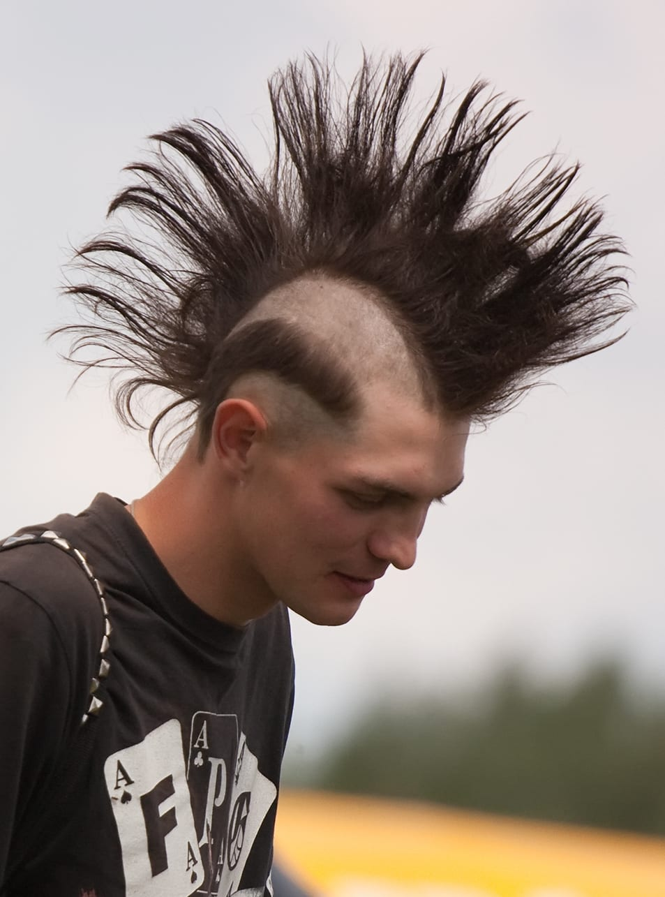 Long Mohawk Design