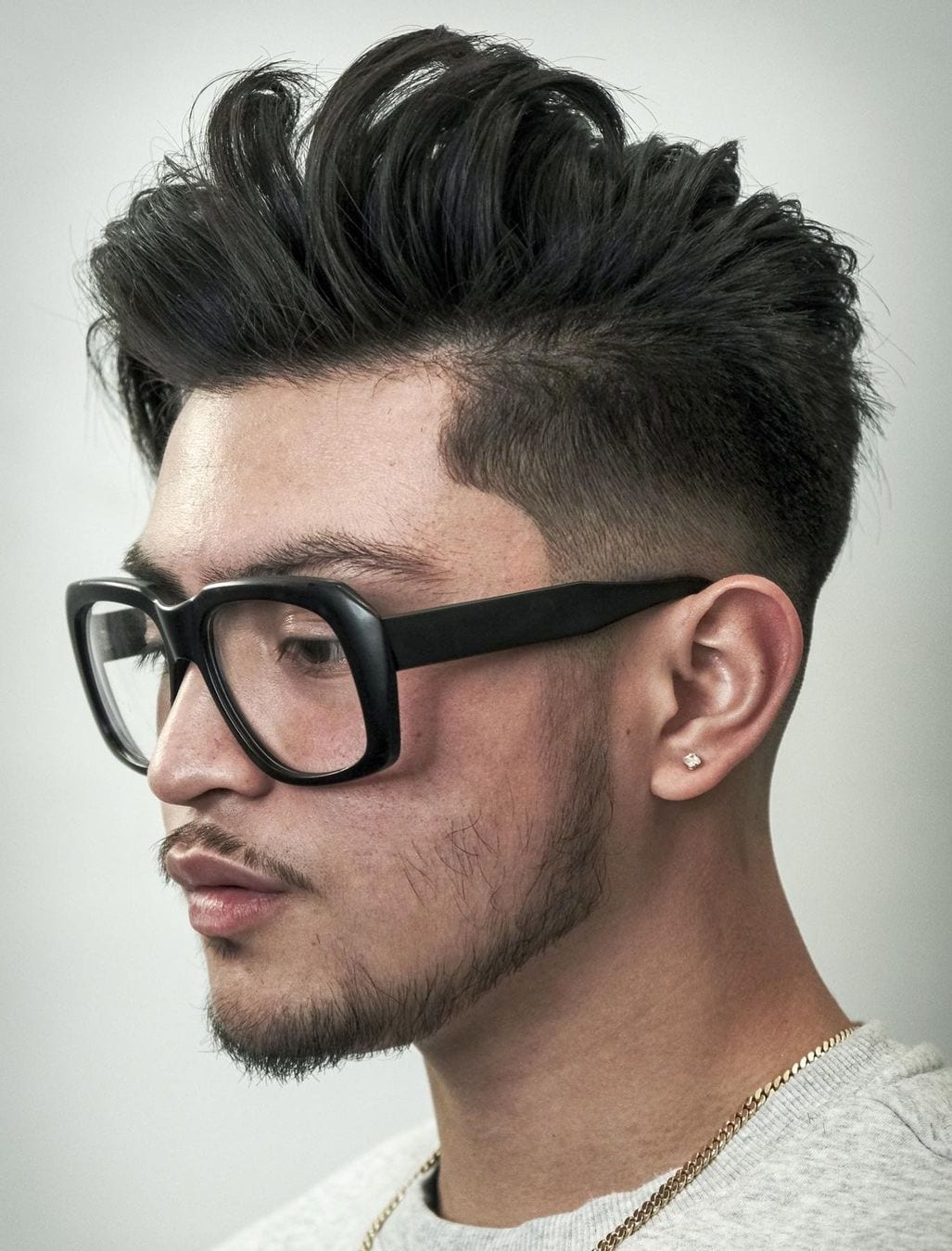 Long Top with Tapered Sides