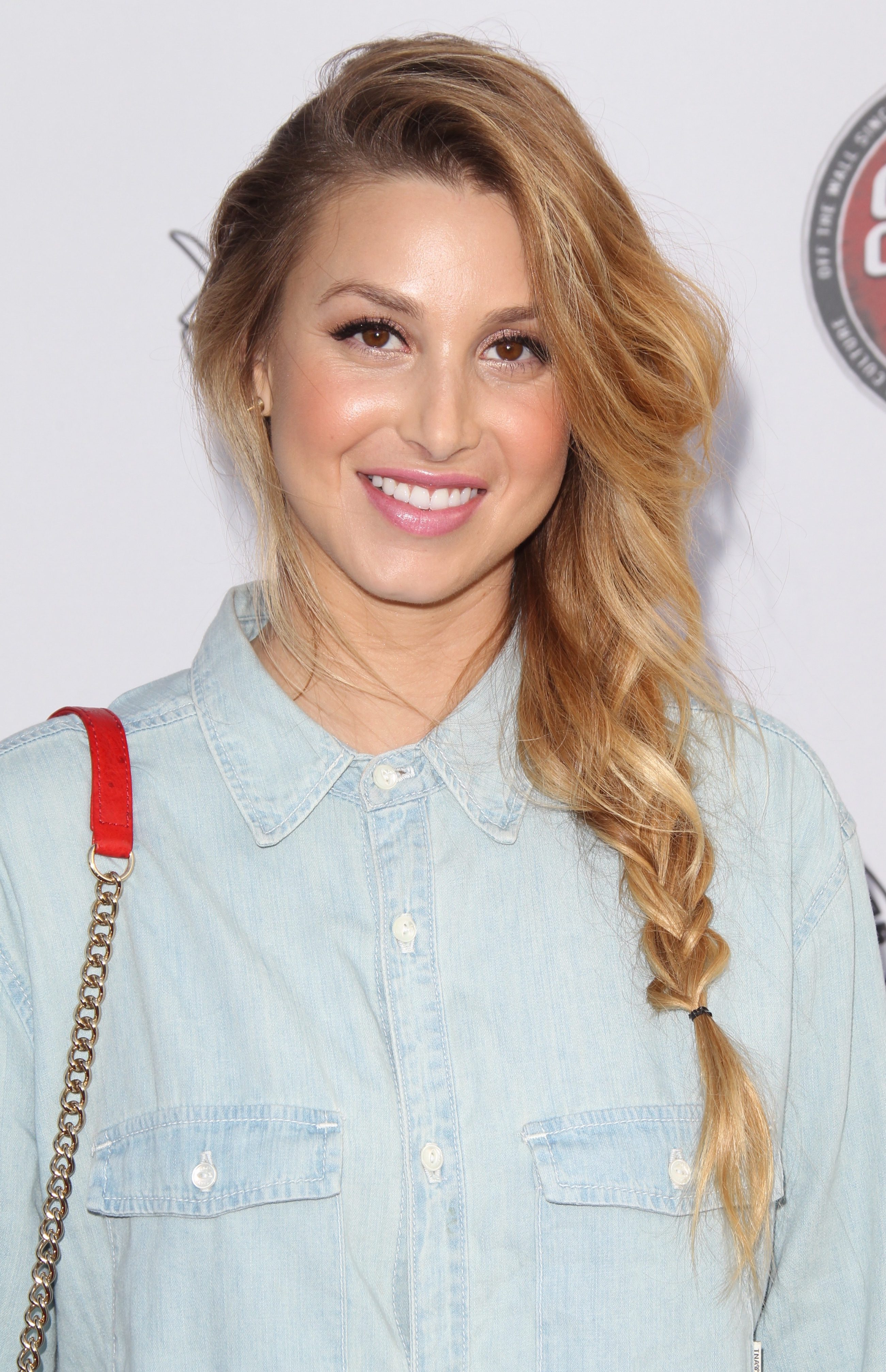 Loosely Knit Whitney Port's Casual Braid Tail