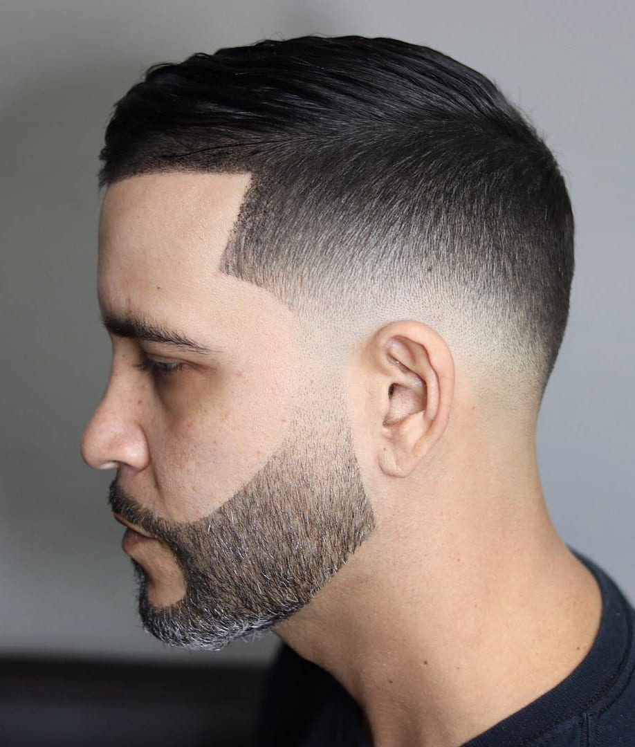 Low Fade and Top Scissors Crop