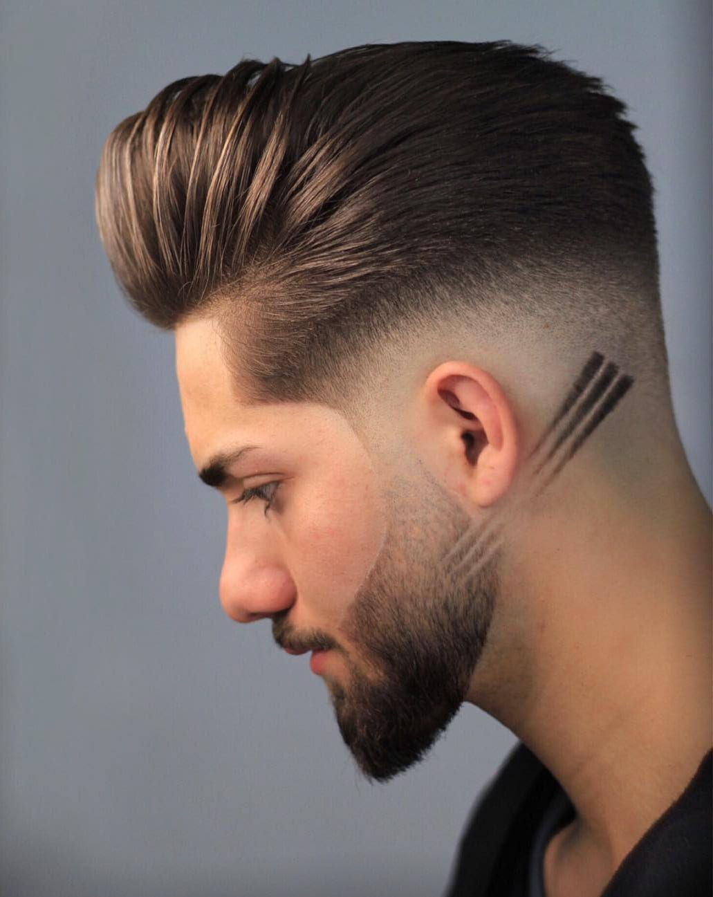 Low fade and Side Line Design
