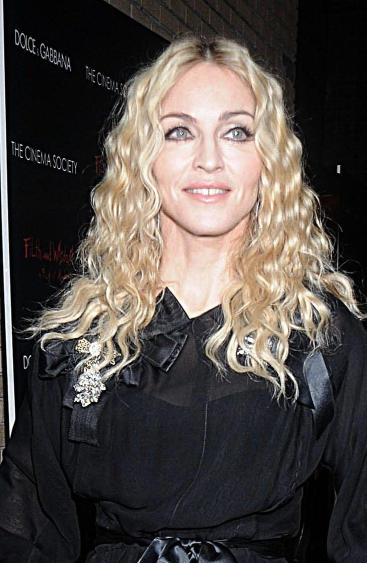 Madonna's Iconic Perm Hairstyle