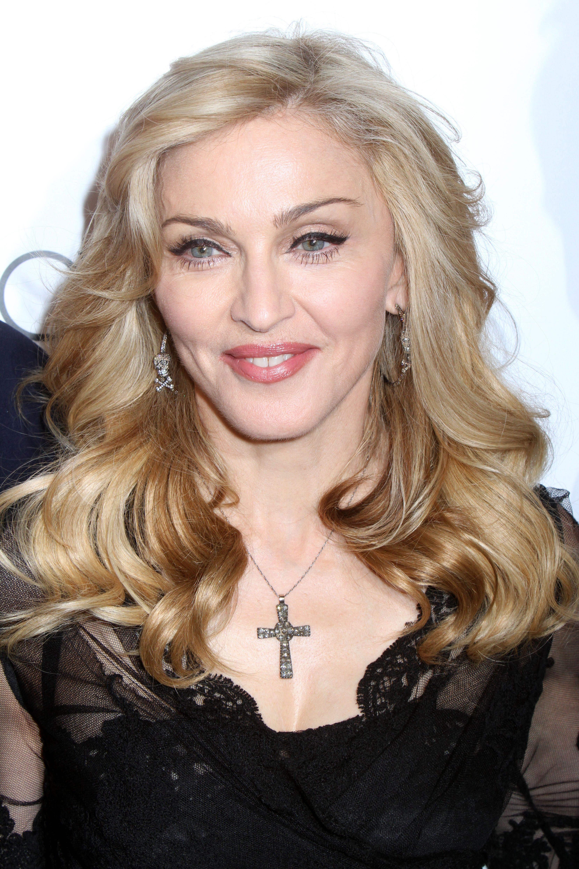 Madonna's Blonde on Blonde Balayage