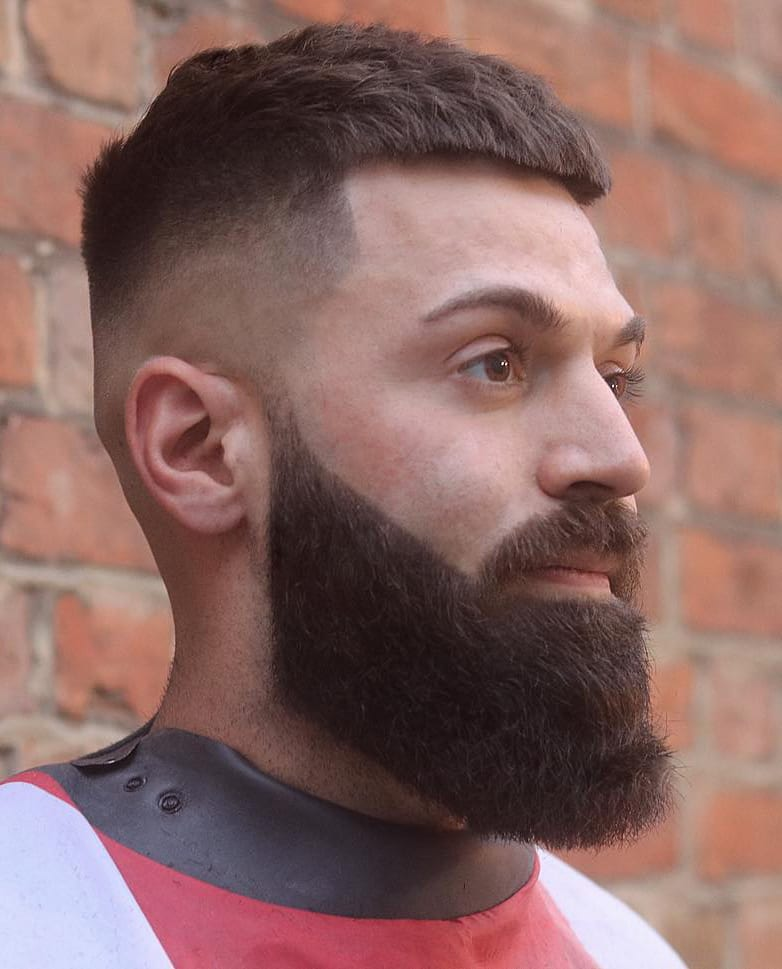 Manicured Long Beard and French Crop