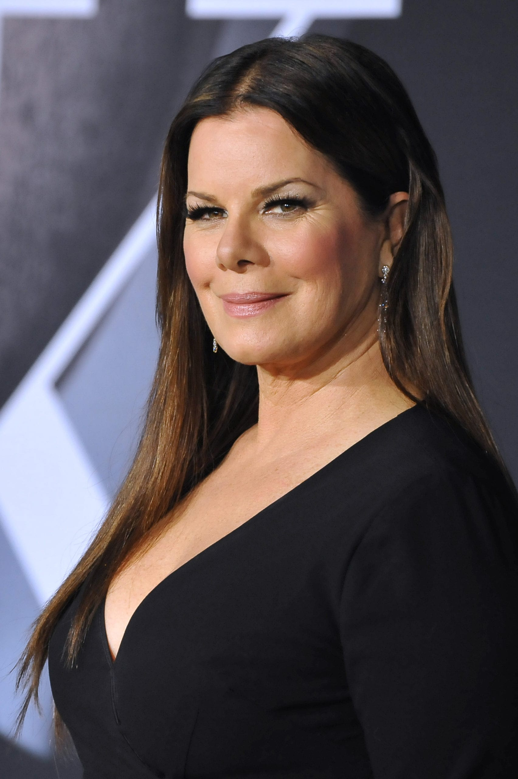 Marcia Gay Harden's Middle Part