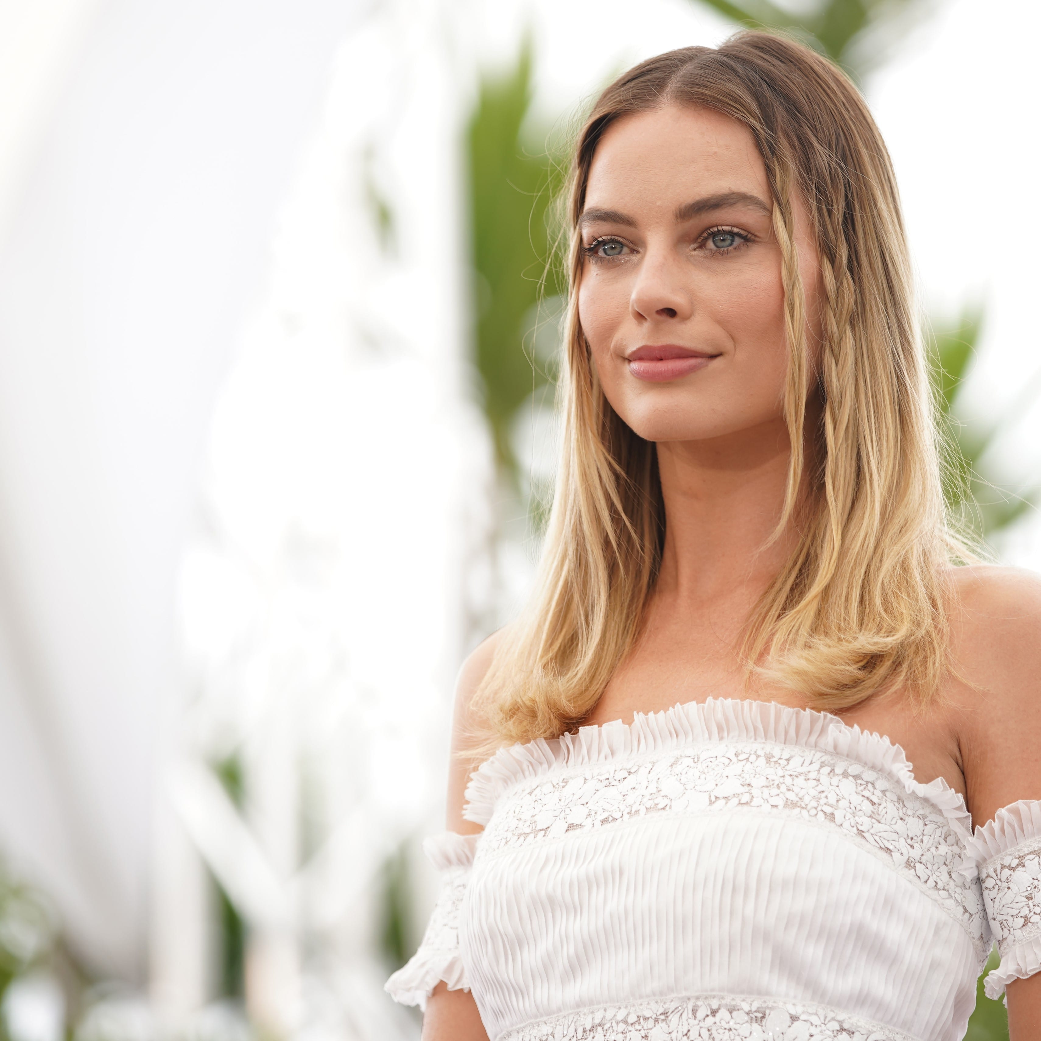 Margot Robbie's Ombre Hairstyle