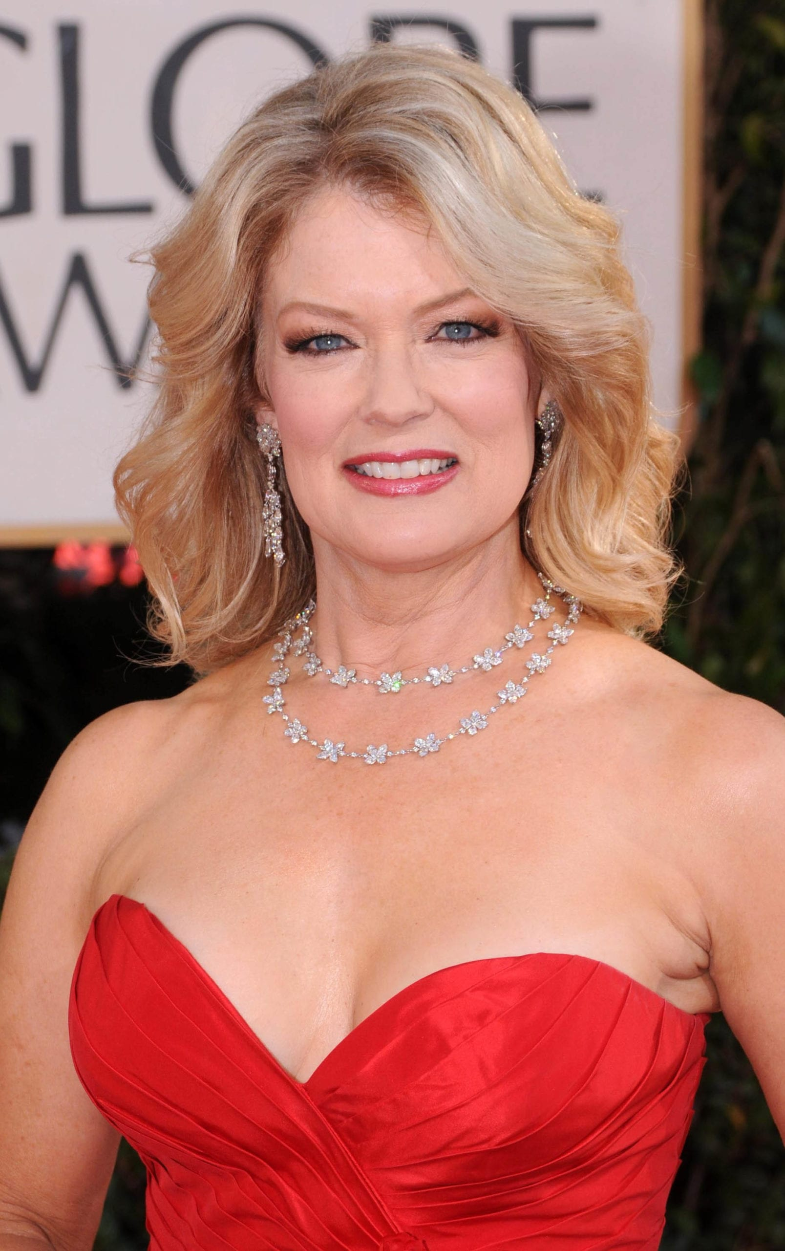 Mary Hart's Blonde on Blonde Highlights