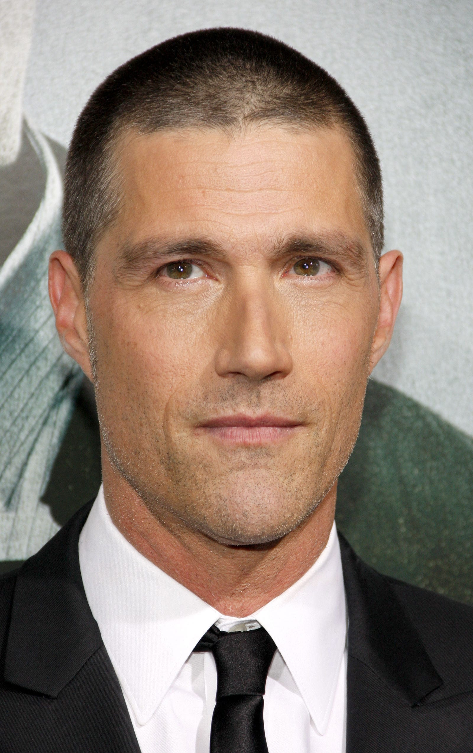 Matthew Fox butch cut