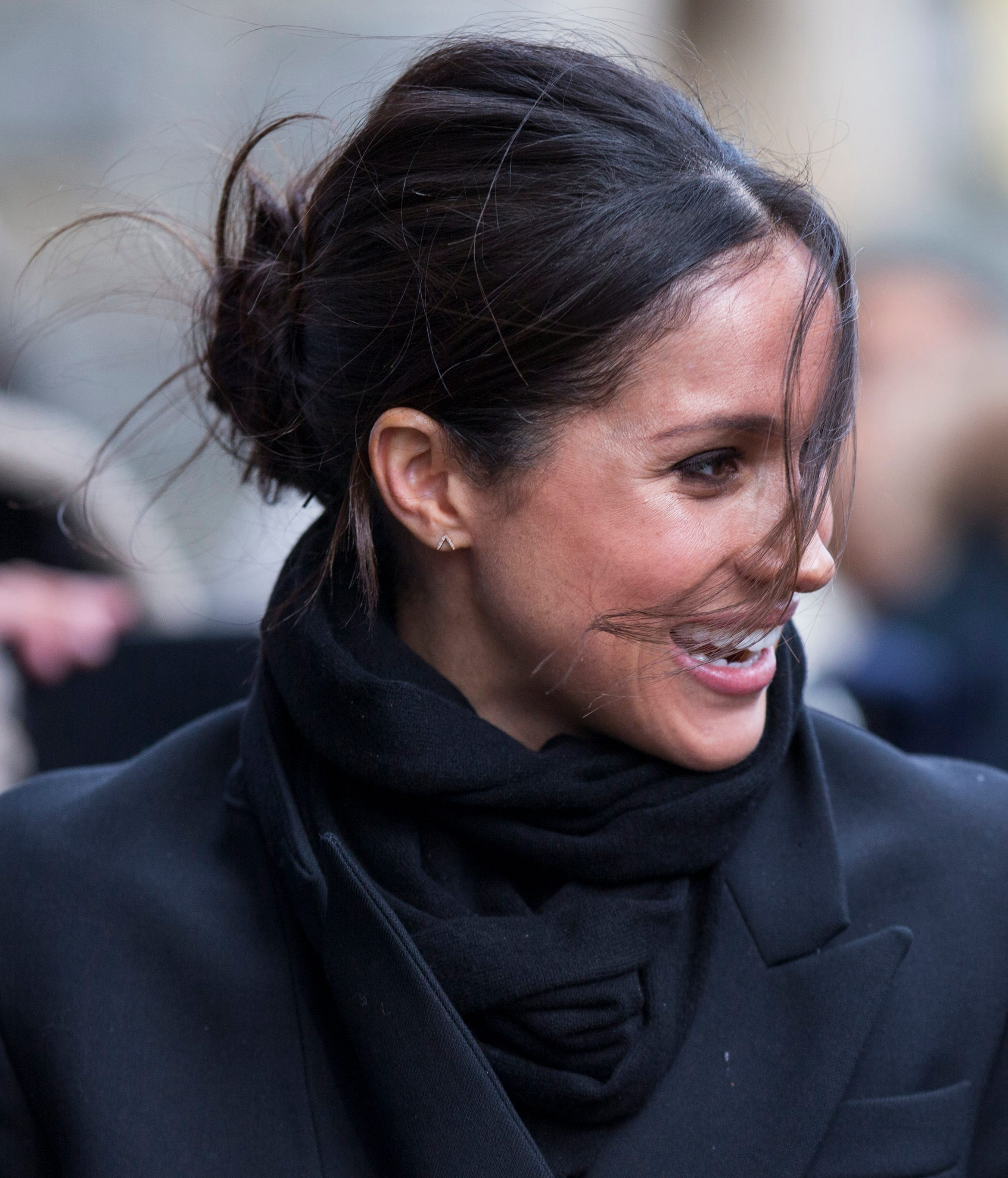 Meghan Markle's Casual yet Royal Updo
