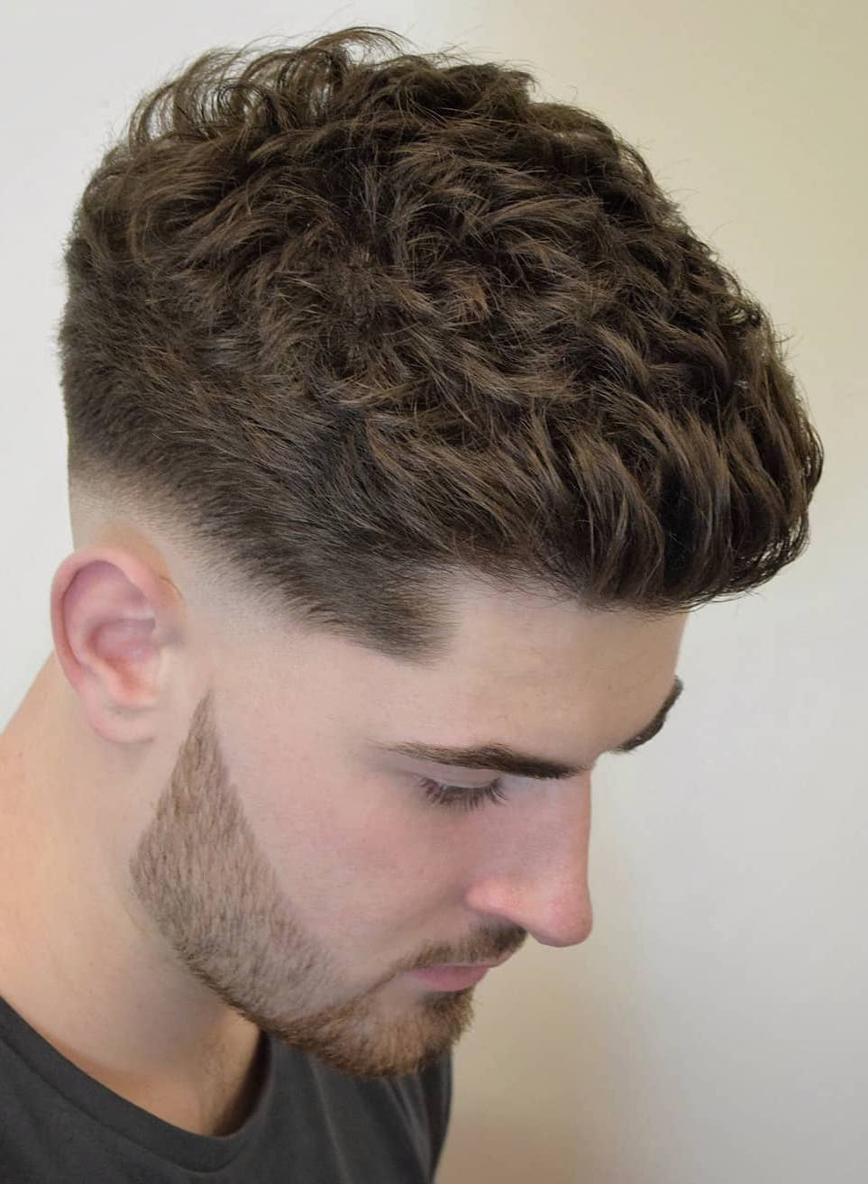 Messy Texture with Skin Fade