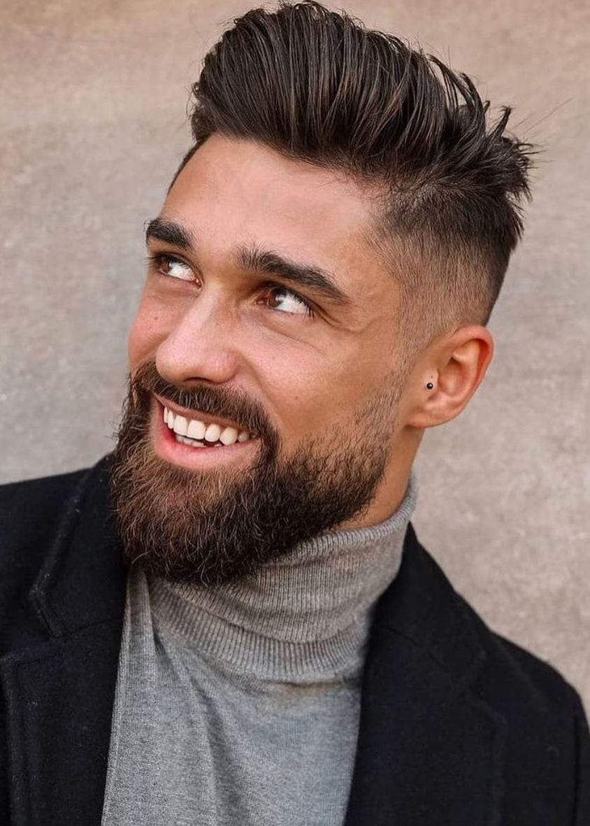 Mid Faded Beard