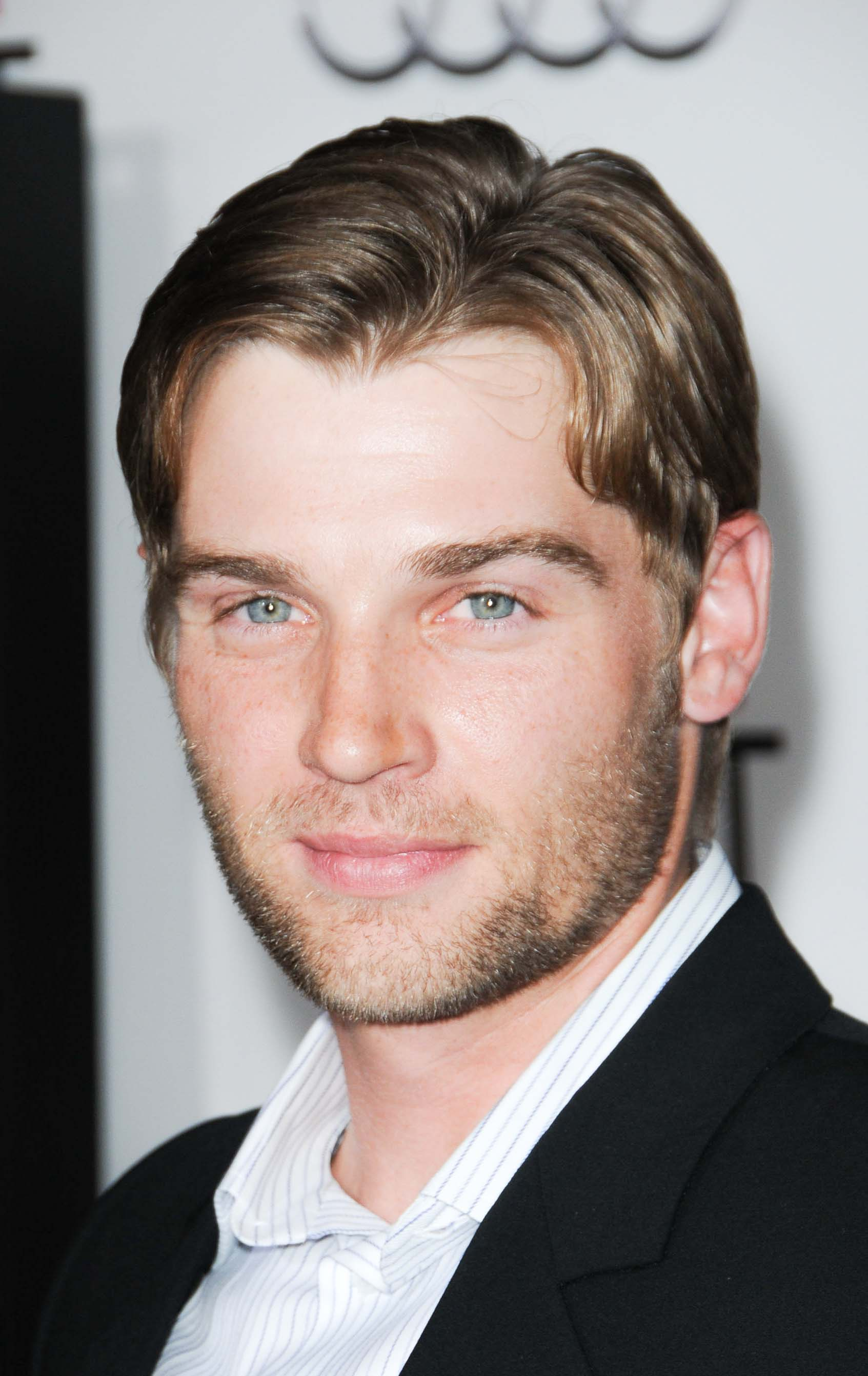 Mike Vogel's Natural Part with Medium Fringe