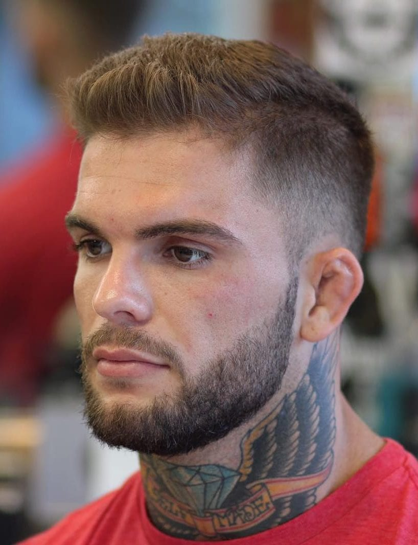 10 Awesome Military Haircuts for Men