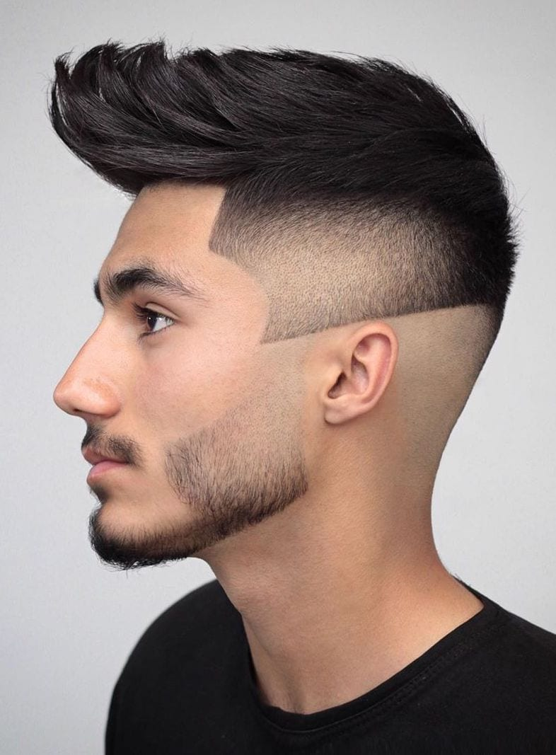 Millennial Faux with Patch Fade