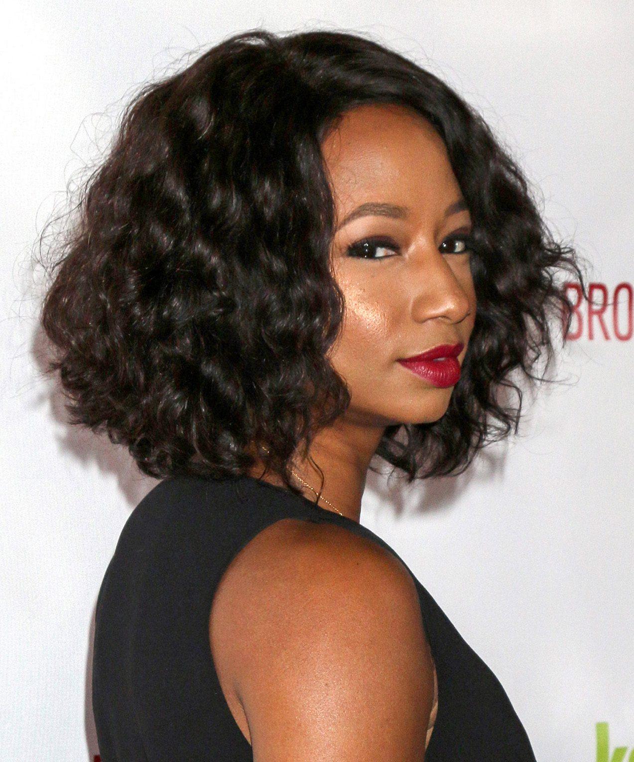Monique Coleman's Curly Bob