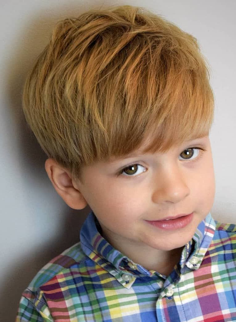 10+ Excellent School Haircuts for Boys + Styling Tips
