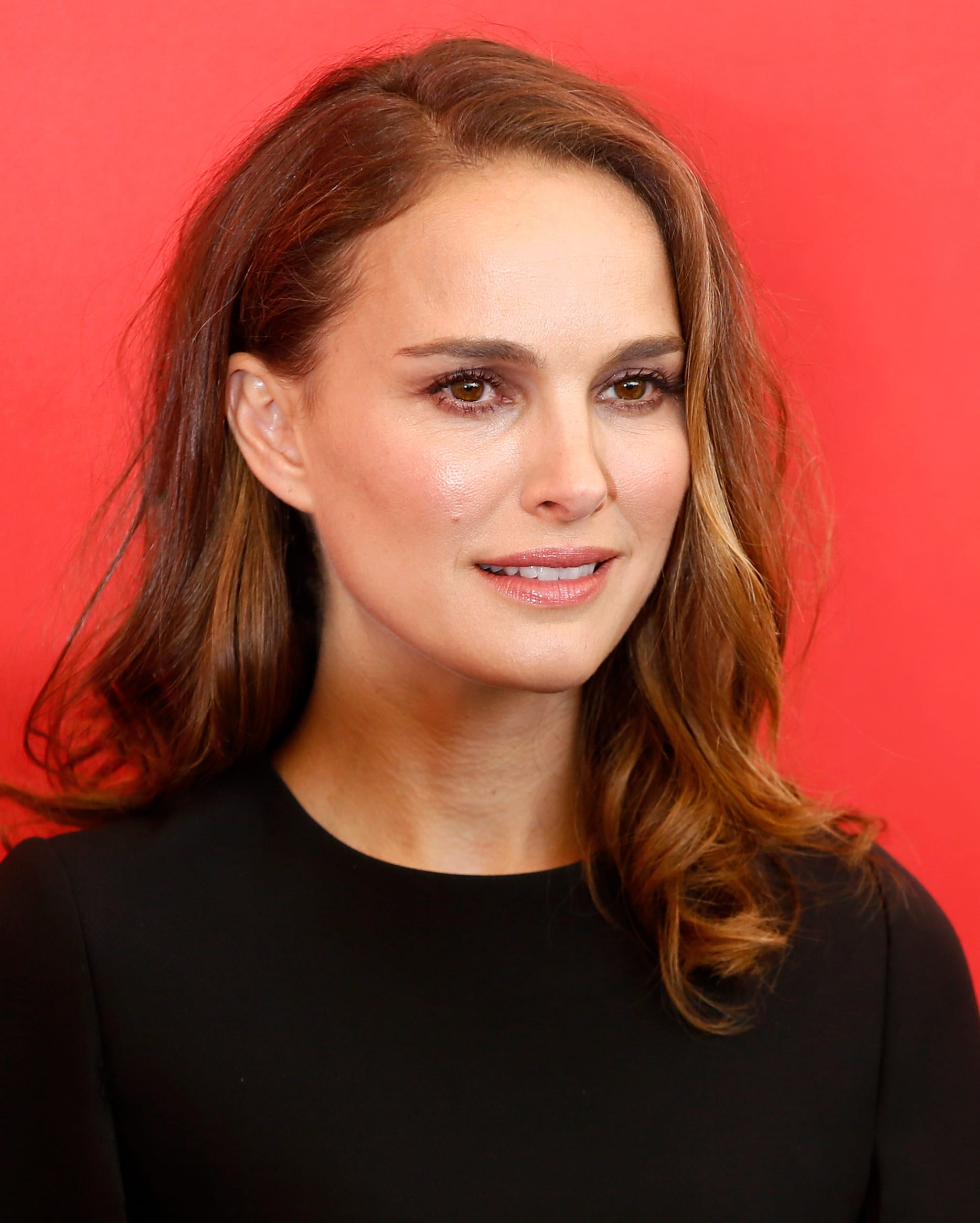 Natalie Portman's Relaxed Curls