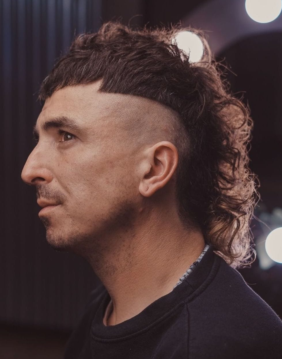 Neat Undercut Mullet with French Crop