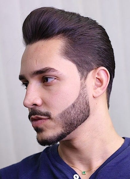 Neat and Organized Beard To Top