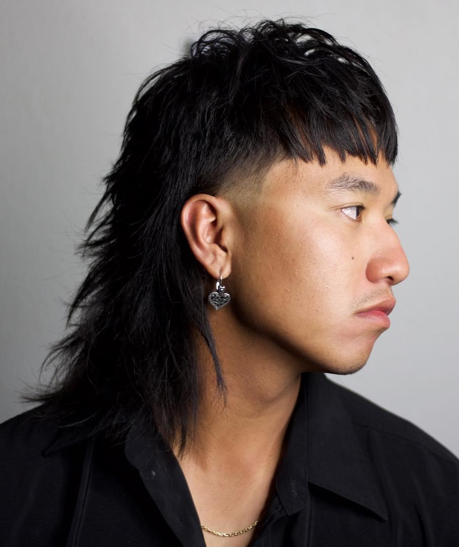 Next Level Asian Mullet