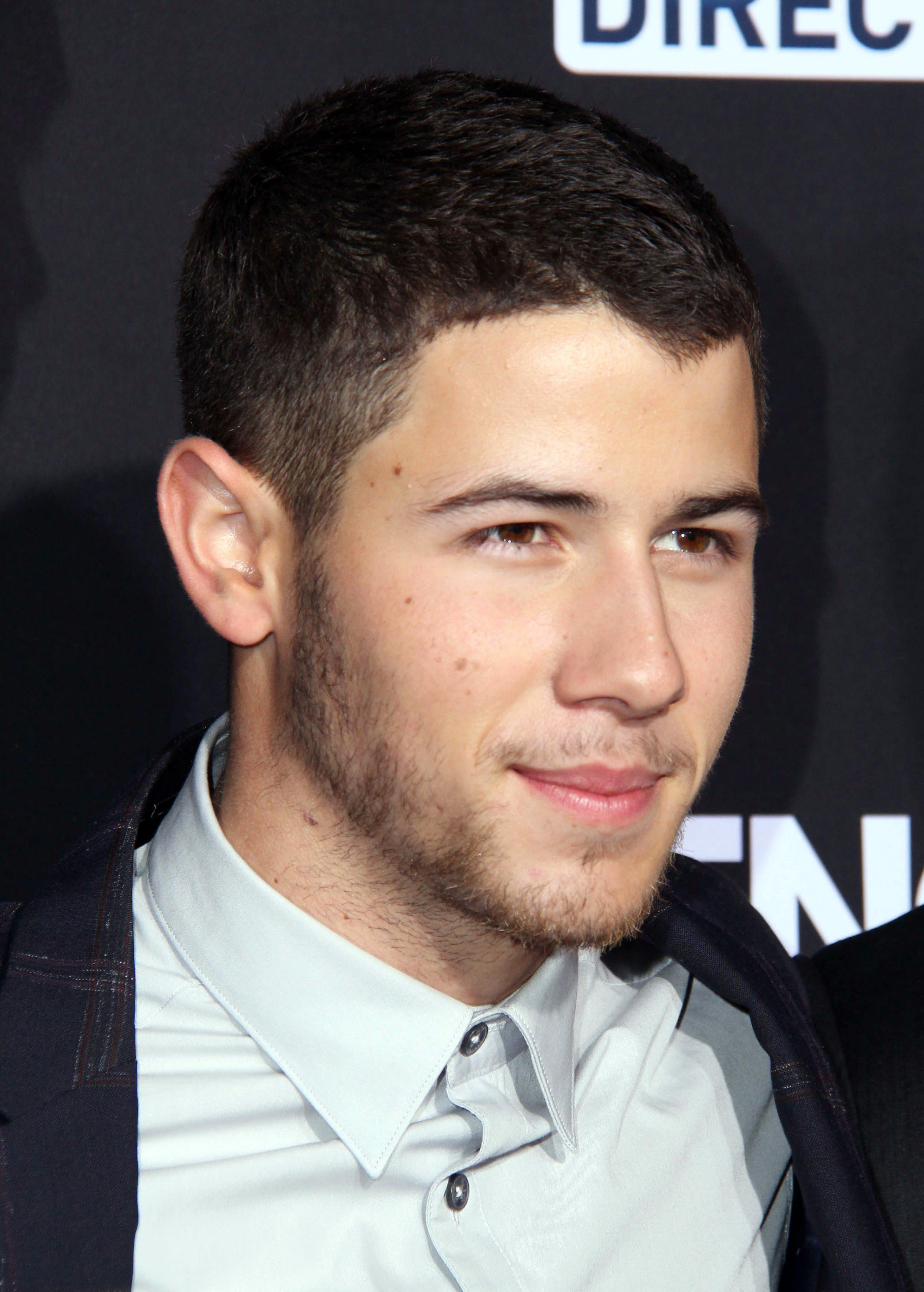 Nick Jonas's Buzz Cut