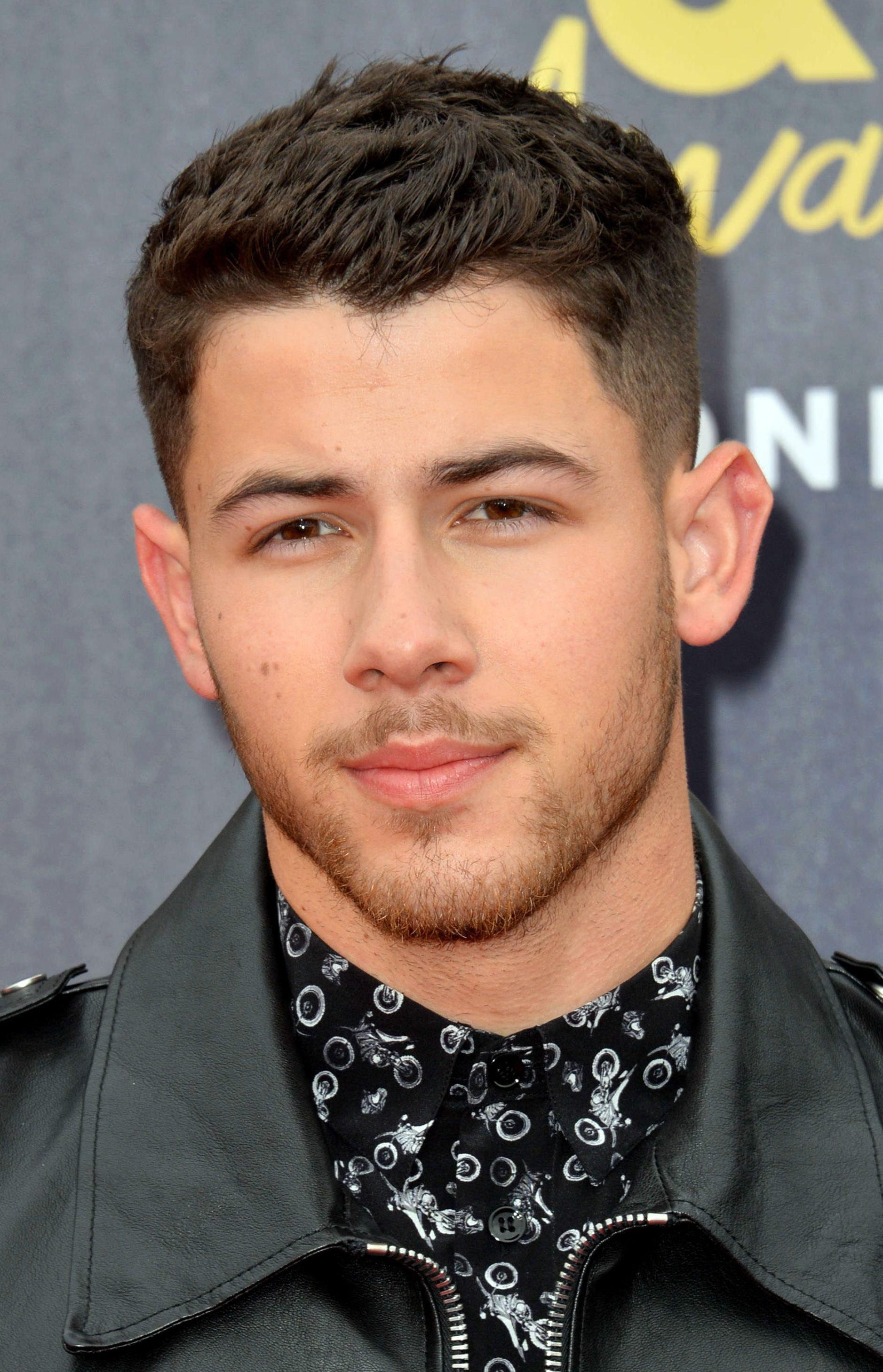 Nick Jonas's Clean Undercut