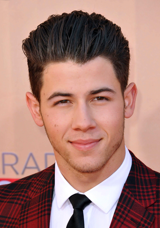 Nick Jonas's Slicked Back
