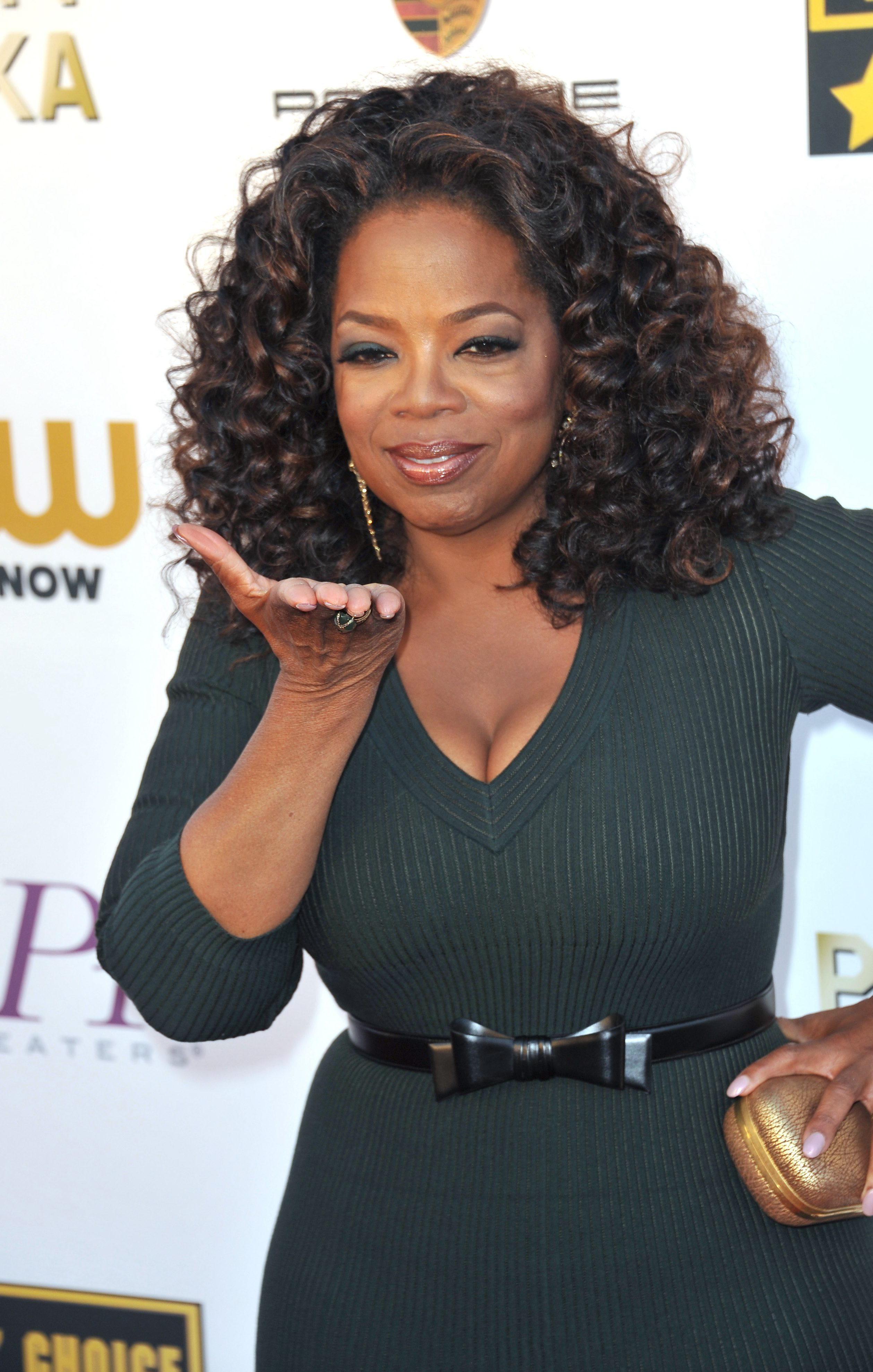 Oprah's Curled Afro Shag