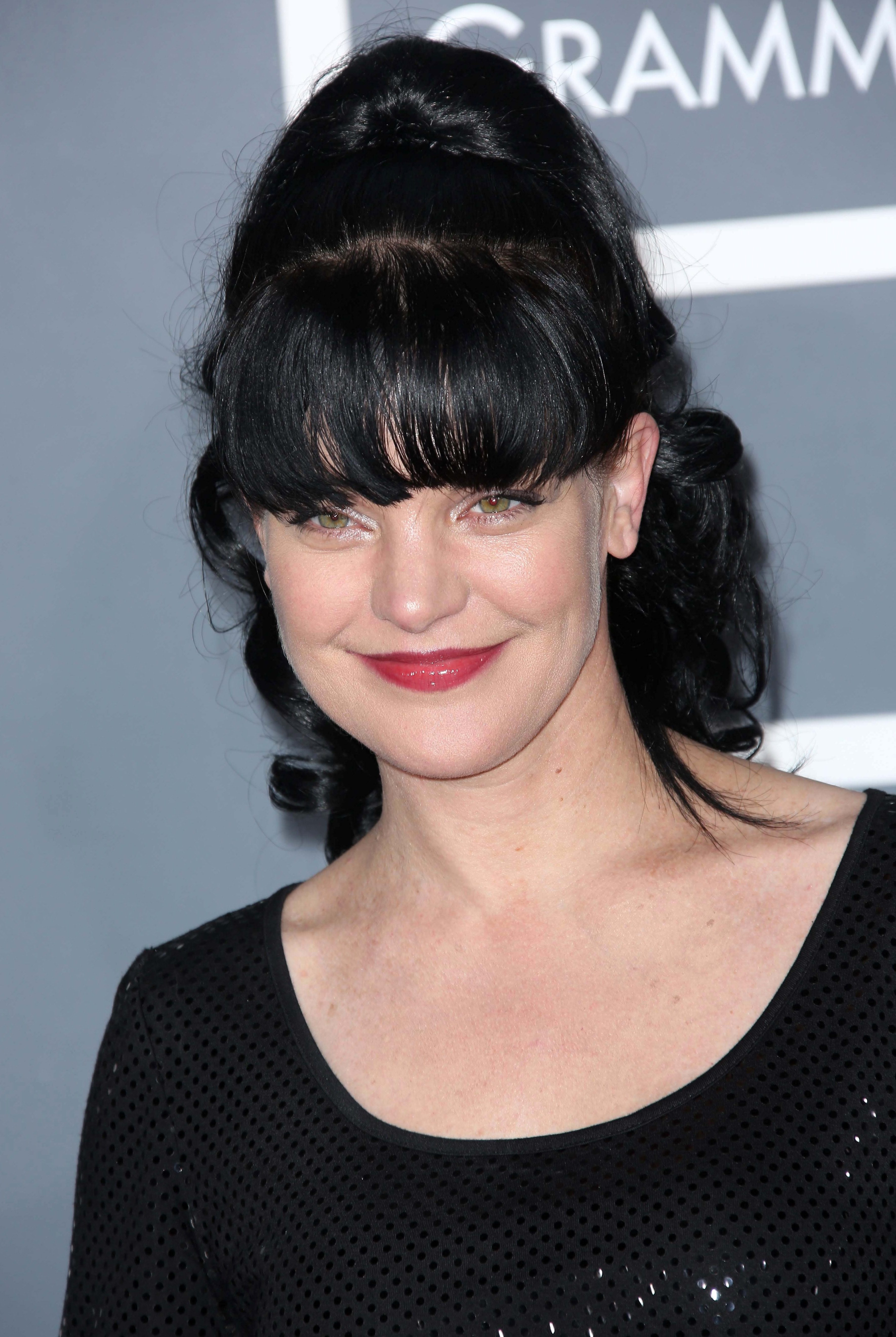 Pauley Perrette Hyping up The Samurai Look