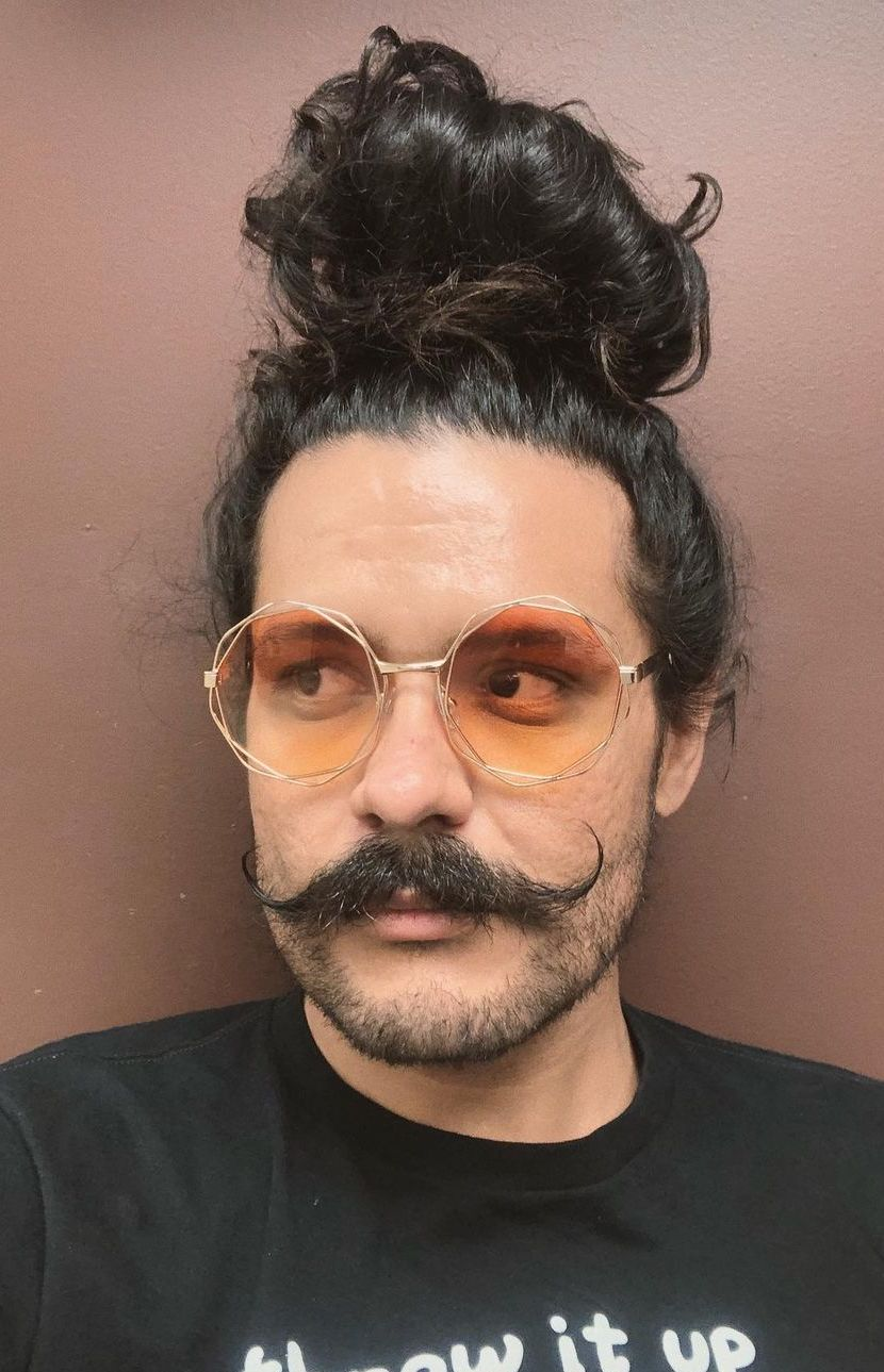 Perfect Imperial Handlebar Mustache