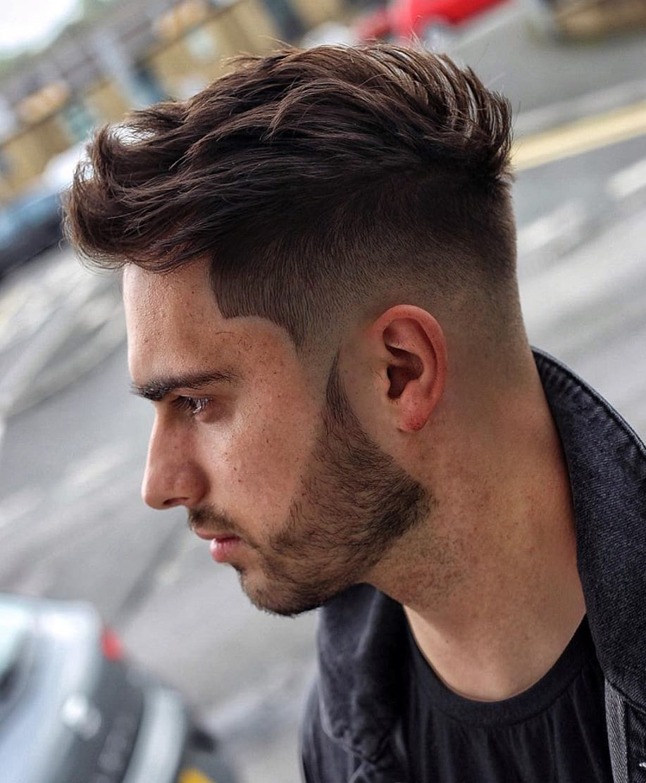 Perfect Low Fade and Faux-Hawk