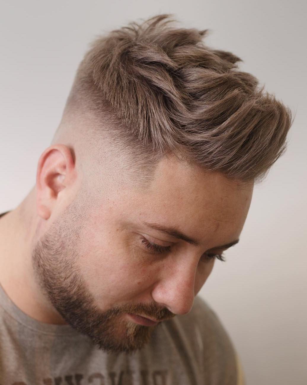 Pocky layered Brush Up with Skin Fade